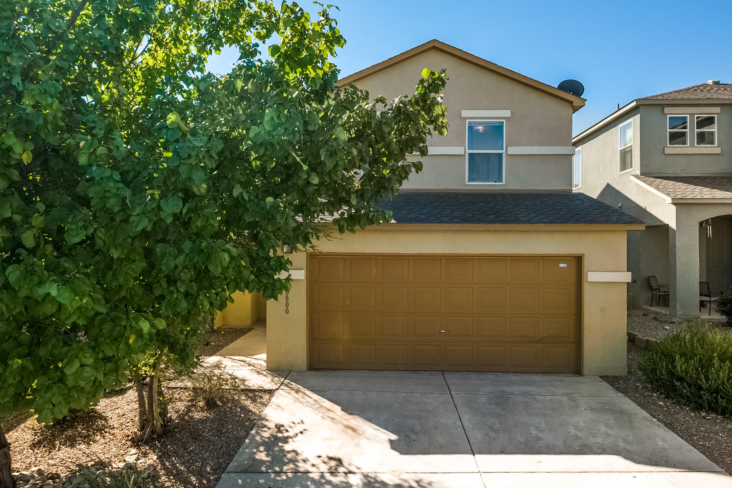 Welcome Home! This beautiful home in a gated Community has an open floor plan, fresh paint throughout, refrigerated air. Enjoy the community swimming pool.