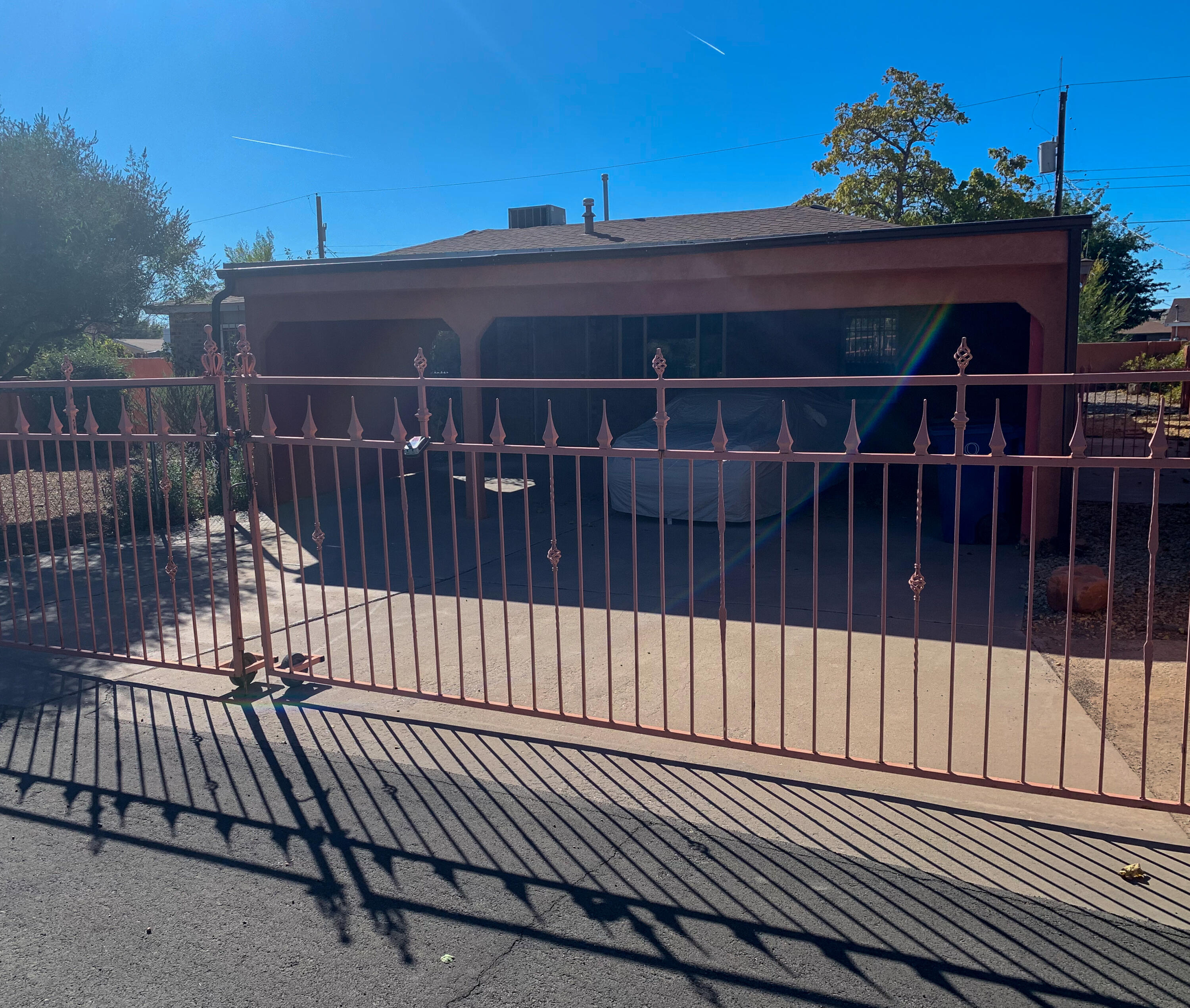 This spacious home is situated on a large lot with a private back yard.  There is a tremendous amount of development in the area, shopping, restaurants and much more. The property needs some TLC and is being sold as is.