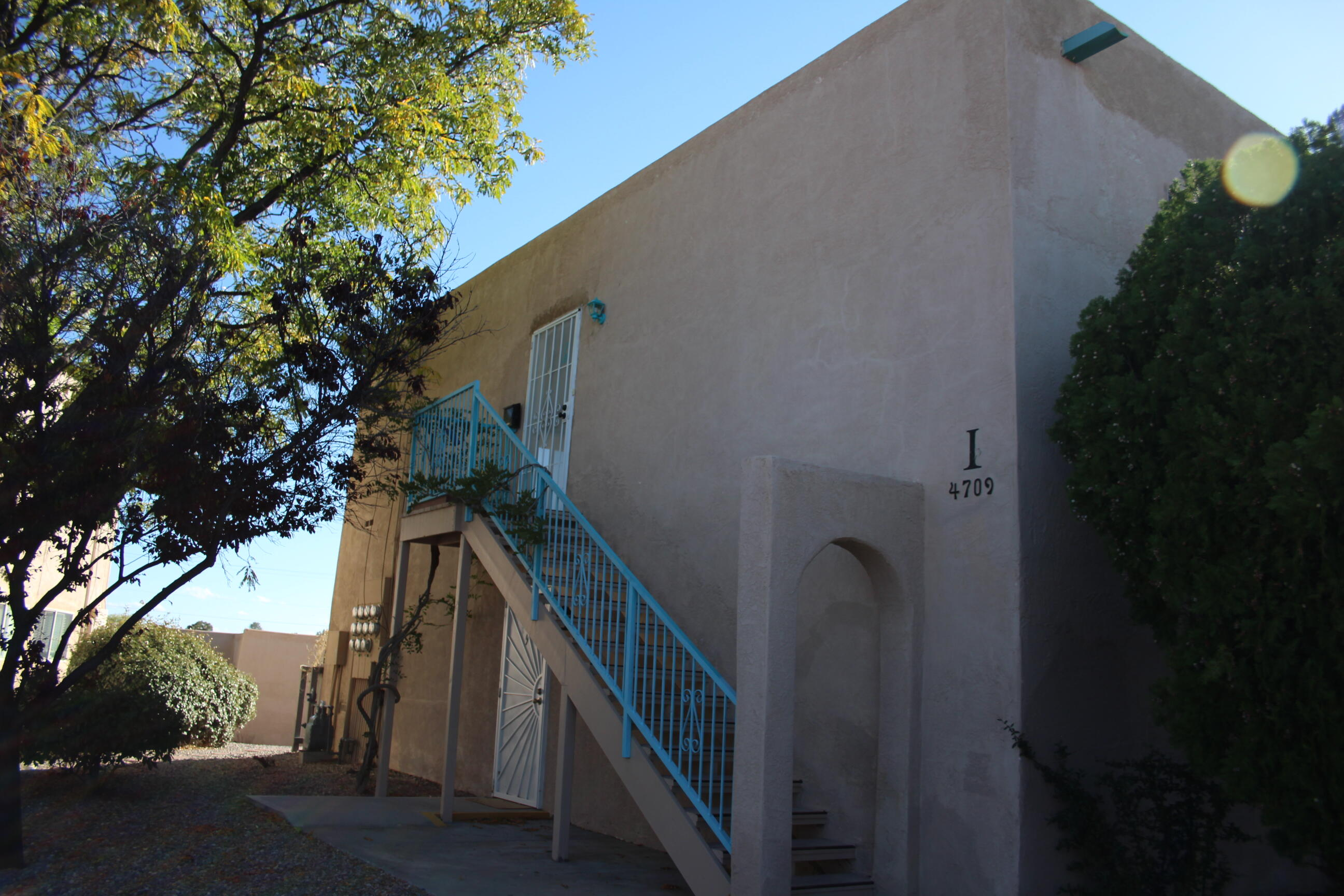 A second story 1 Bed 1 Bath Unit in the popular area of Paradise Hills Country Club.  Unit has a carport and a closed storage. HOA covers HVAC system, roof, exterior and has monthly statements and assessments for included utilities.  Owner only pays for electricity