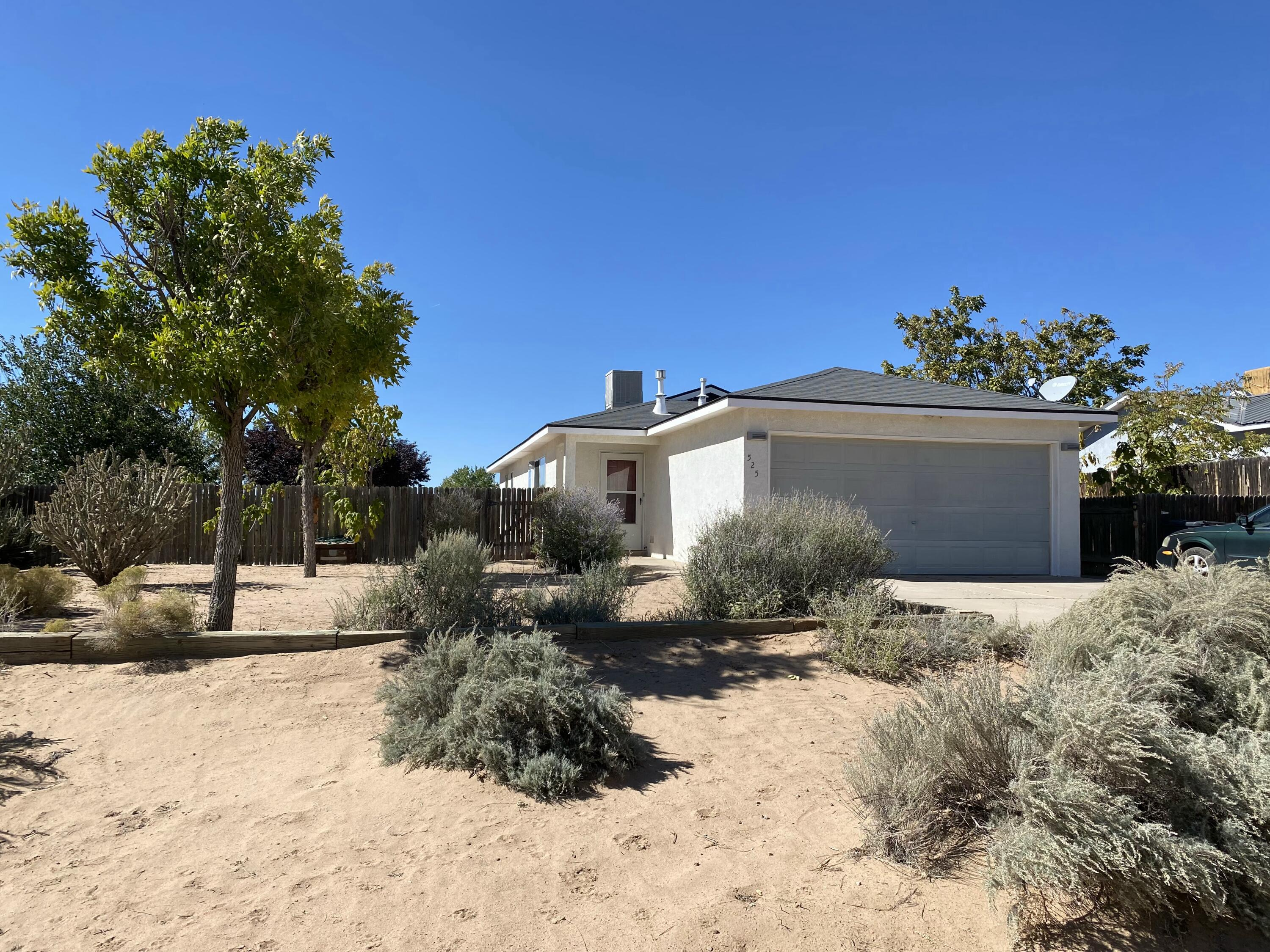 Check out this adorable 3 bedroom 2 bathroom home on a half acre lot! Water heater only 2 yrs. old. Less than a mile from Rainbow dog park and under 2 miles to grocery stores, restaurants, and entertainment.  This is the perfect starter home you have been looking for!  Schedule your showing before it's gone!
