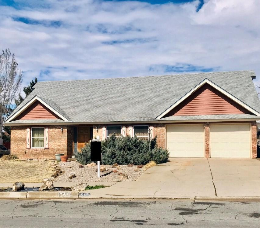 Welcome to Cielito Lindo!  This is a large home with plenty of space for the family.This one offers two large living spaces, Wood burning FireplaceHome offers