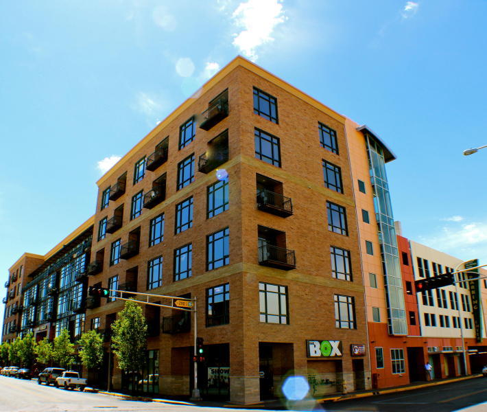 Stunning Custom Loft located in downtown Albuquerque at 100 Gold Ave. This corner loft is located on the 5th floor with amazing views! Complete with 2 bedroom, 2 bath, granite counter tops, a wet bar, stained concrete floors, fully furnished with an excellent sound system. Don't Overlook, Call Today!