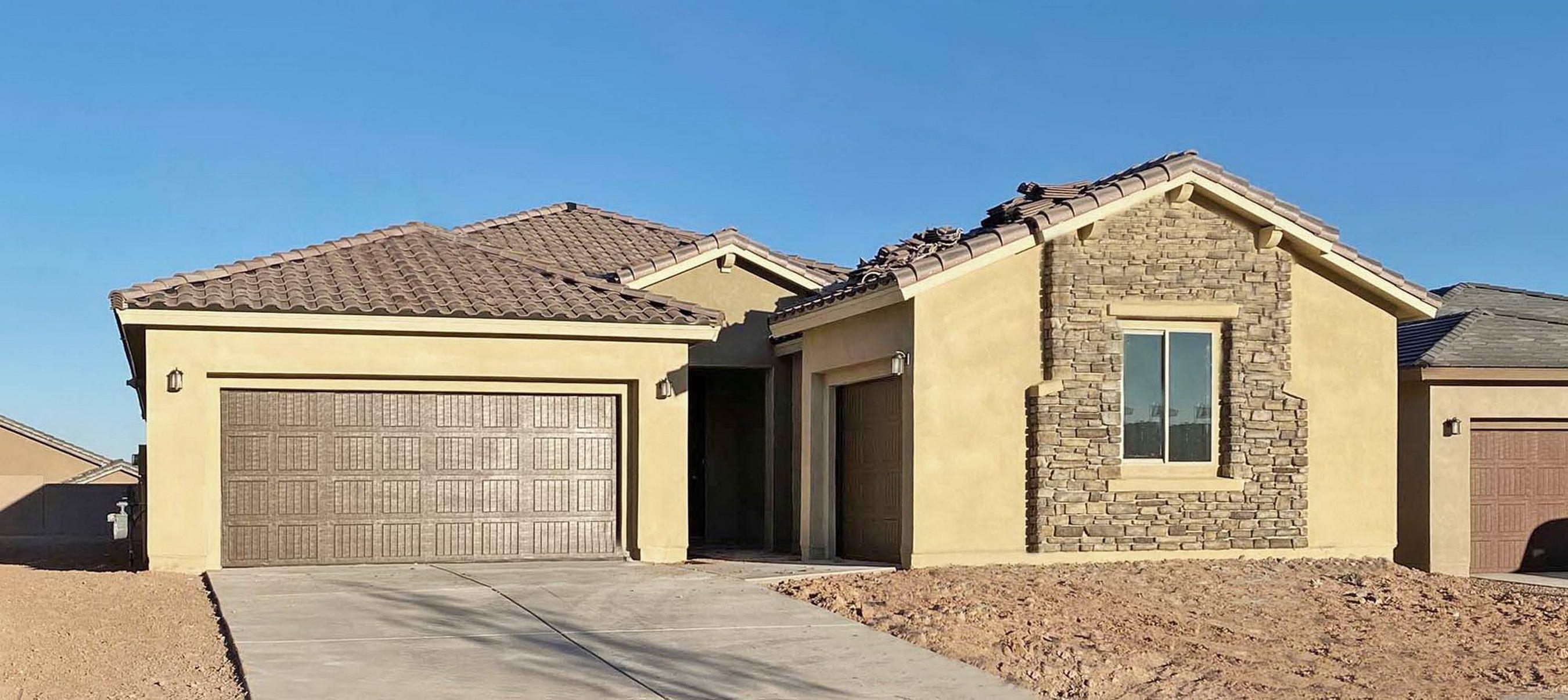 Brand-new, never lived-in Parklane plan by Pulte in our gated community! 3 bedrooms, 3 baths and a large study. The Chef kitchen includes a big granite island, built-in cooktop, pendant vent hood, wall microwave and wall oven, all with luxurious granite counters, high-grade cabinets and decorative tile backsplash. Open floor plan with bright, delightful gathering room, fireplace and elegant tile flooring in all but the bedrooms/study. Upgraded Owner's Bath with snail framed walk-in-shower. Green-Build Certified for exceptional energy efficiency and comfort, Lennox furnace, Refrigerated Air and a tankless hot water heater for extra savings! The Amenity Center right next door has both indoor and outdoor pool, a large gym, a yoga room, a cafe area and massive park. Must see today!