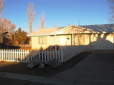 A very cute starter Home. Ceramic Tile in Living Room, Kitchen and Bathroom. Master bedroom has a walk in closet.  Front and back are landscaped, perfect for entertaining.