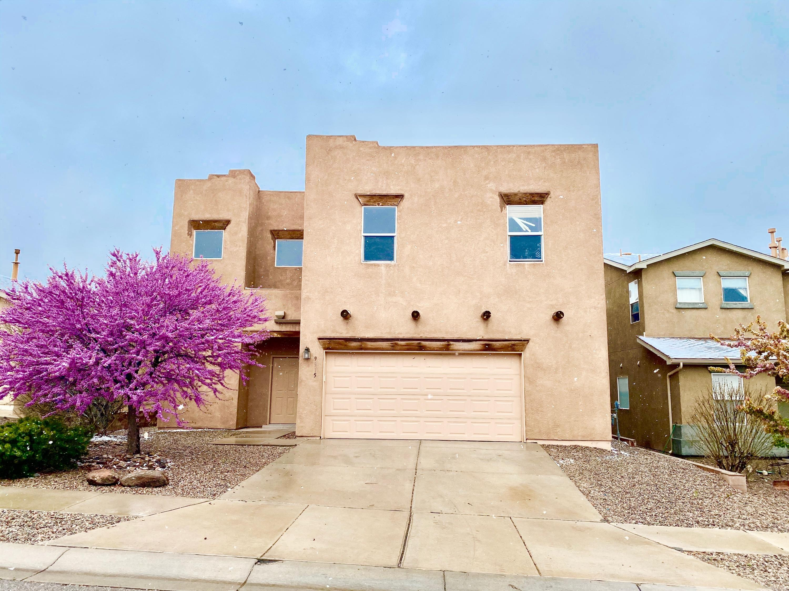 Lovely spacious four bedroom home with a study and a large loft! This home had the carpet replaced in April. Includes walk in closets and walk in pantry. Xeriscape backyard with a covered patio.