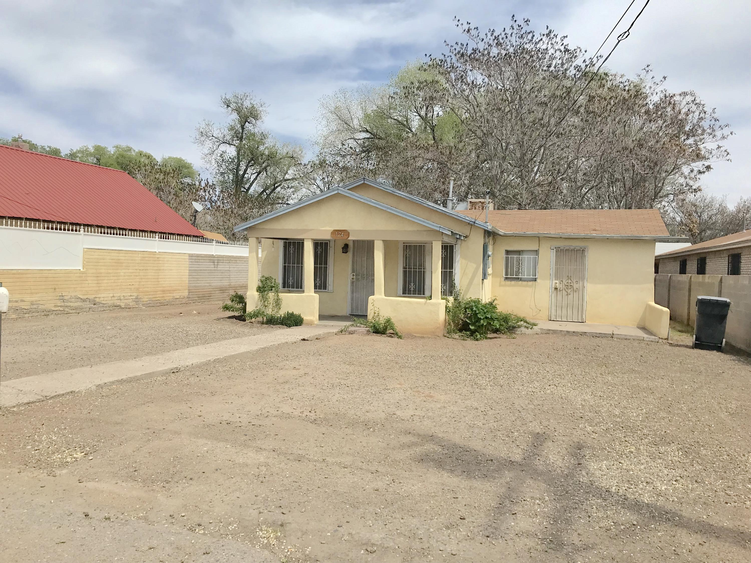 Come check out this South Valley  3 bedroom, 2 bathroom home sitting on .23 of an acre with a ton of potential!  Large master with full bath and separate entrance! Spacious backyard with backyard access on North side of property. Home is being sold as is!