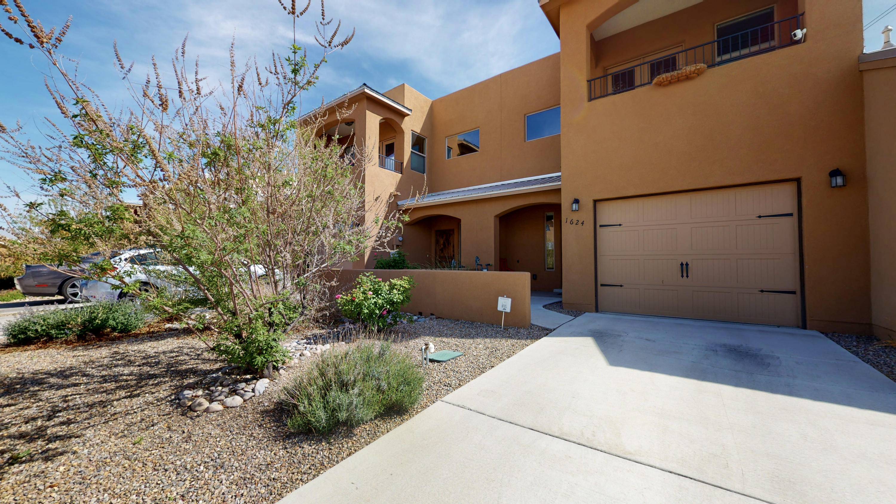 Check out this beauty in the new vibrant Sawmill District.   The double master bedroom townhome boasts an open floor plan with room for entertainment with lots of natural light. The kitchen has upgraded expresso cabinets with beautiful granite countertops and all stainless steel appliances. The island in the kitchen gives extra counter space and is open to the living and dining area.  The back yard is professionally landscaped and designed for easy maintenance.  The master bedrooms (yes 2 master suites) both have their own bathroom and walk in closets.  Each master also has their own private balcony, both with magnificent views! Walking distance to coffee shops, breweries, museums, the brand  new Sawmill Market, Hotel Chaco and Old Town, come check it out today!