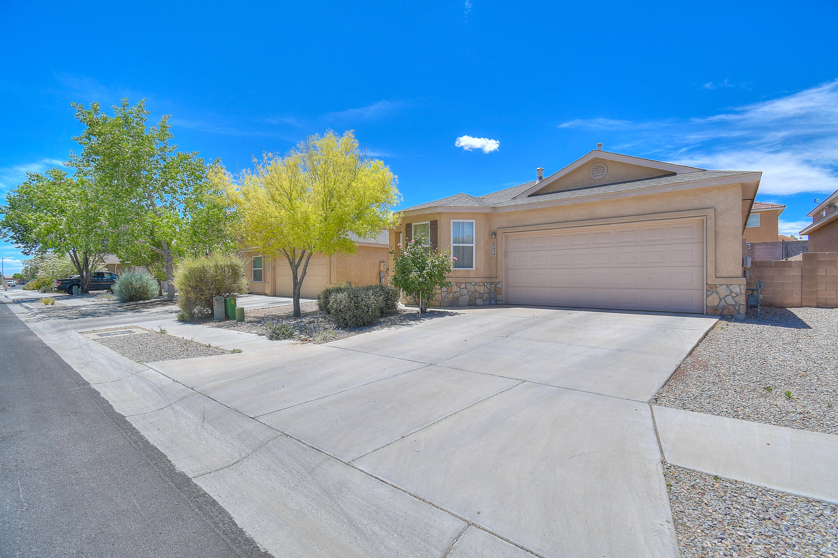 Welcome to your new home!!  Enter into this well maintained home in the desirable Sundoro Subdivision and enjoy the open floorplan and all this 3 bedroom 2 bath home has to offer.  You'll love spending outdoor time in this lovely backyard.