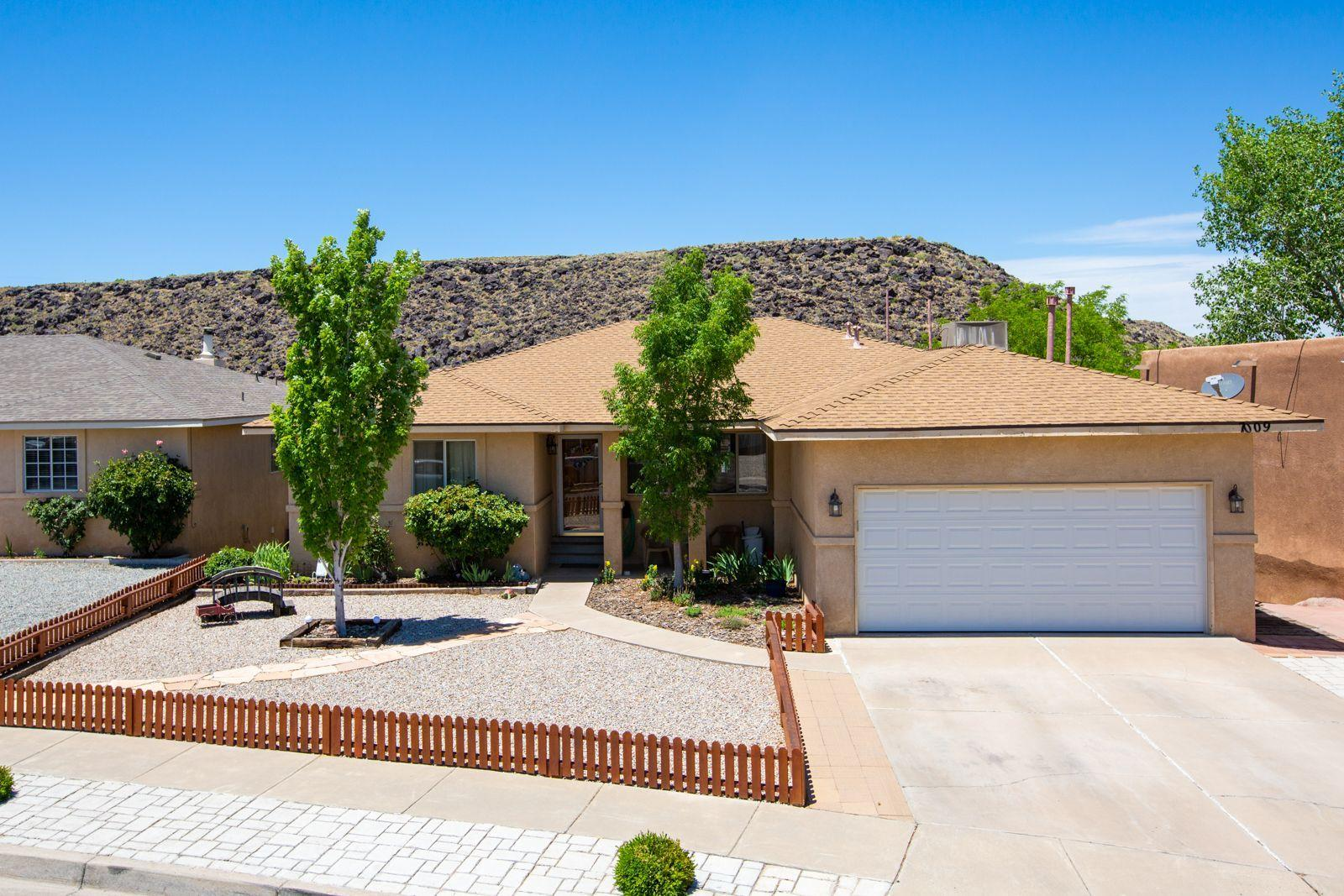 Hurry to see this renovated,  move in ready home! Boasting gracious living and entertaining areas as well as a spectacular view of the Petroglyphs. Won't last long, schedule to see it today!