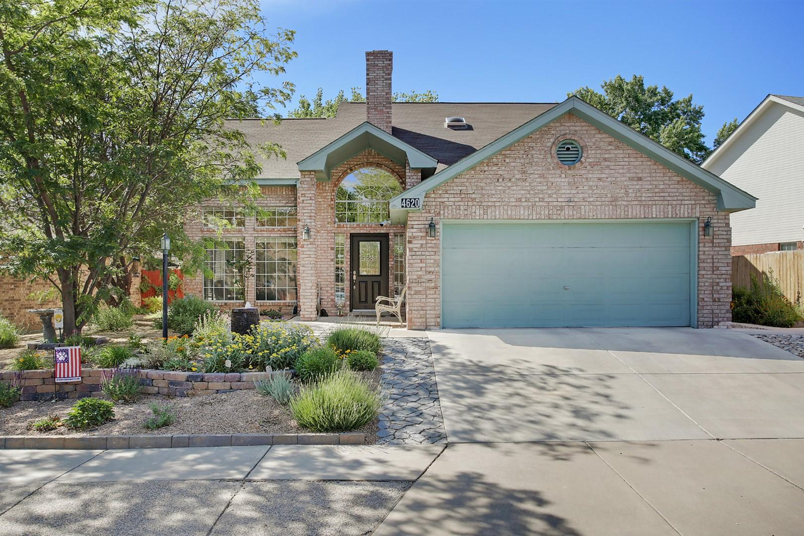 You're going to love this home in popular Taylor Ranch! This is a one owner home and these sellers have taken great care of this home & updated it beautifully!  Stay cool with refrigerated air, ceiling fans in all rooms & so much light with vaulted ceilings & clerestory windows! Granite counters in the kitchen & bathrooms!  Tiled back splashes too!  Master is on the main level with sliding door to backyard.  Master bath has double sinks, soaking tub & separate shower.  Upstairs is a spacious loft, two more bedrooms & large guest bath.  Living/dining is huge, kitchen has tons of counter space & cabinetry, breakfast nook is sunny with sliding door to large covered patio & private backyard! Ready to move into and oh so clean!!!