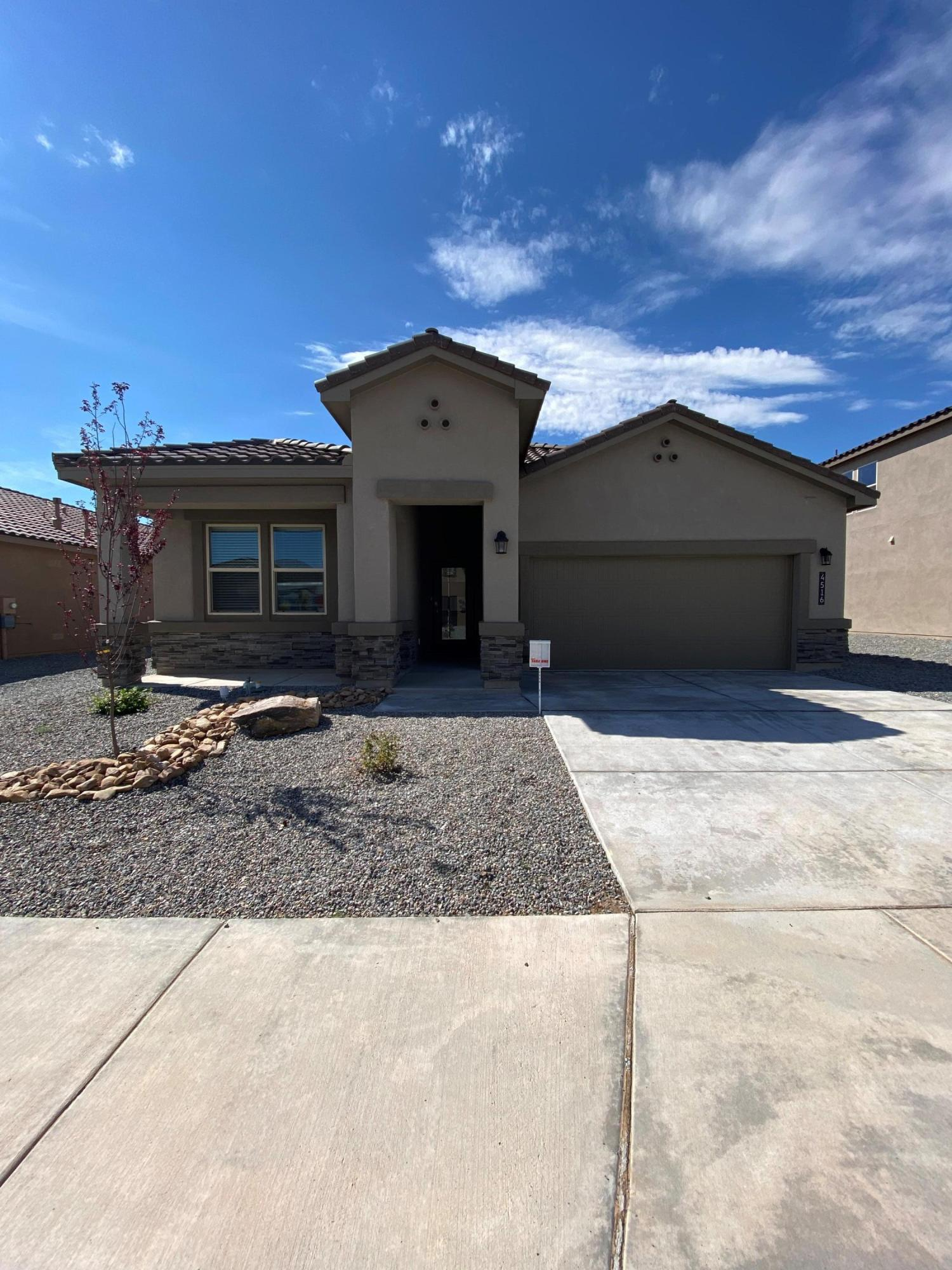 We invite you to the flagship of Rio Rancho, ''Cleveland Heights'' by D.R. Horton. Come take a look at our most popular floorplan, ''The Logan'' 4 bedrooms, 3 bathrooms, an office and an open concept. This beautiful home is loaded with unbeatable features and near all the amenities you will ever need!