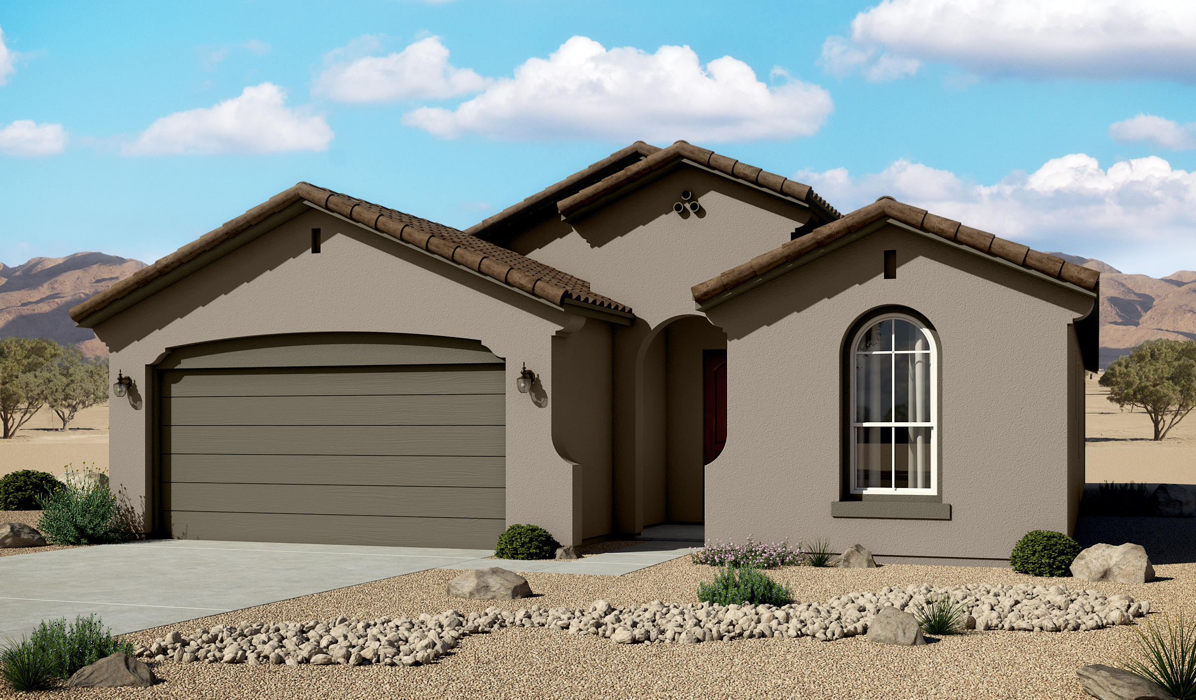 Estimated date fo completion: 07/31/2020Features:  Gourmet Kitchen, Farm Sink, 8' doors, Pendant lights over Kitchen Countertops, Upgraded Granite, 2'' Blinds, Garage door opener, upgraded floor and wall tile