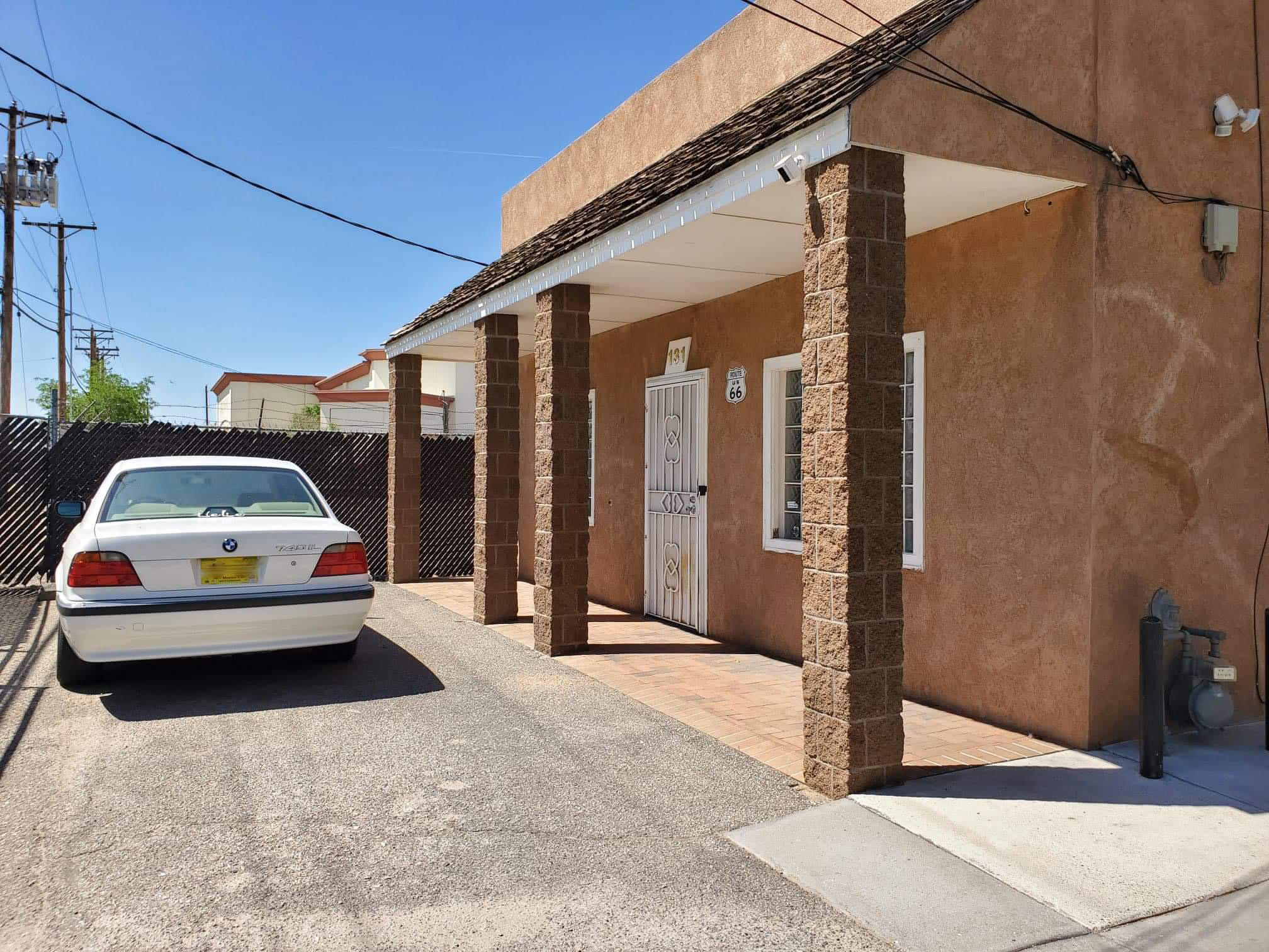 Don't miss your chance to own this unique Live/work shop.  Zoned MX-M, opens up lots of possibilities. Office in the front, apartment in the middle, huge shop/Garage (almost 900 sq ft in the back with car lift 220 and 18 foot ceilings.  The apartment is updated with refrigerated air/heat units, washer and dryer, kitchen, stained concrete for easy clean up. The office has a small full kitchen and 3/4 bath and washer and dryer, and a possible bedroom.  Also has a big 19x10 shed attached on the rear.  Lots of possibilities with this one. Reach out quick to a broker to buy this place.Square foot includes the shop, heated and cooled.  Seller will Owner Finance.  REC