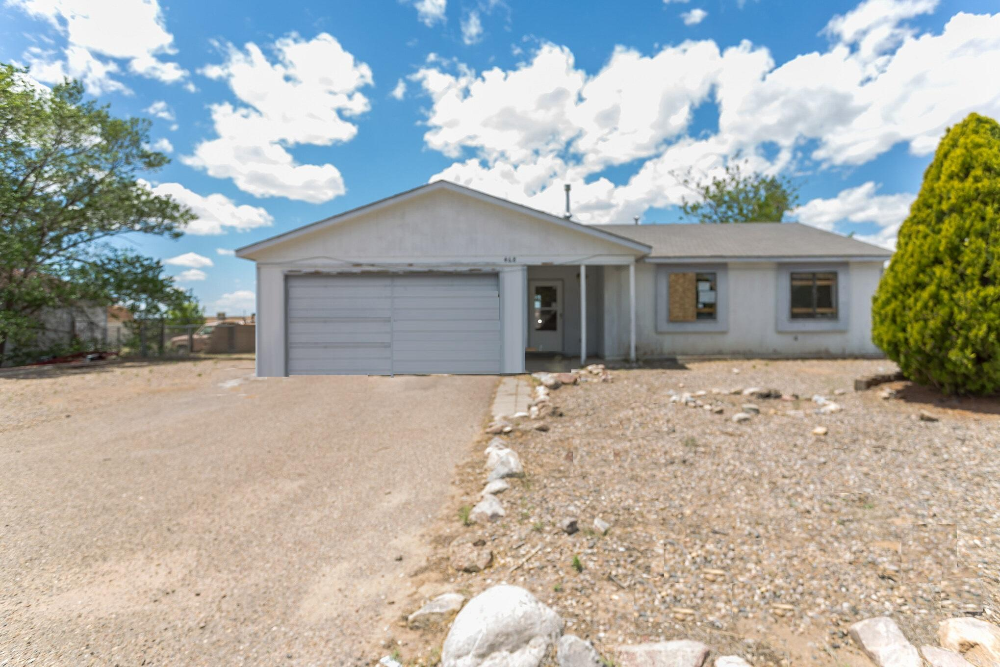 Investor special. Nice single story home on a large lot in need of rehab. Property features 3 bedrooms, 1.5 baths and alarge kitchen with plenty of cabinet space. The home is in need of significant repairs but has good potential.