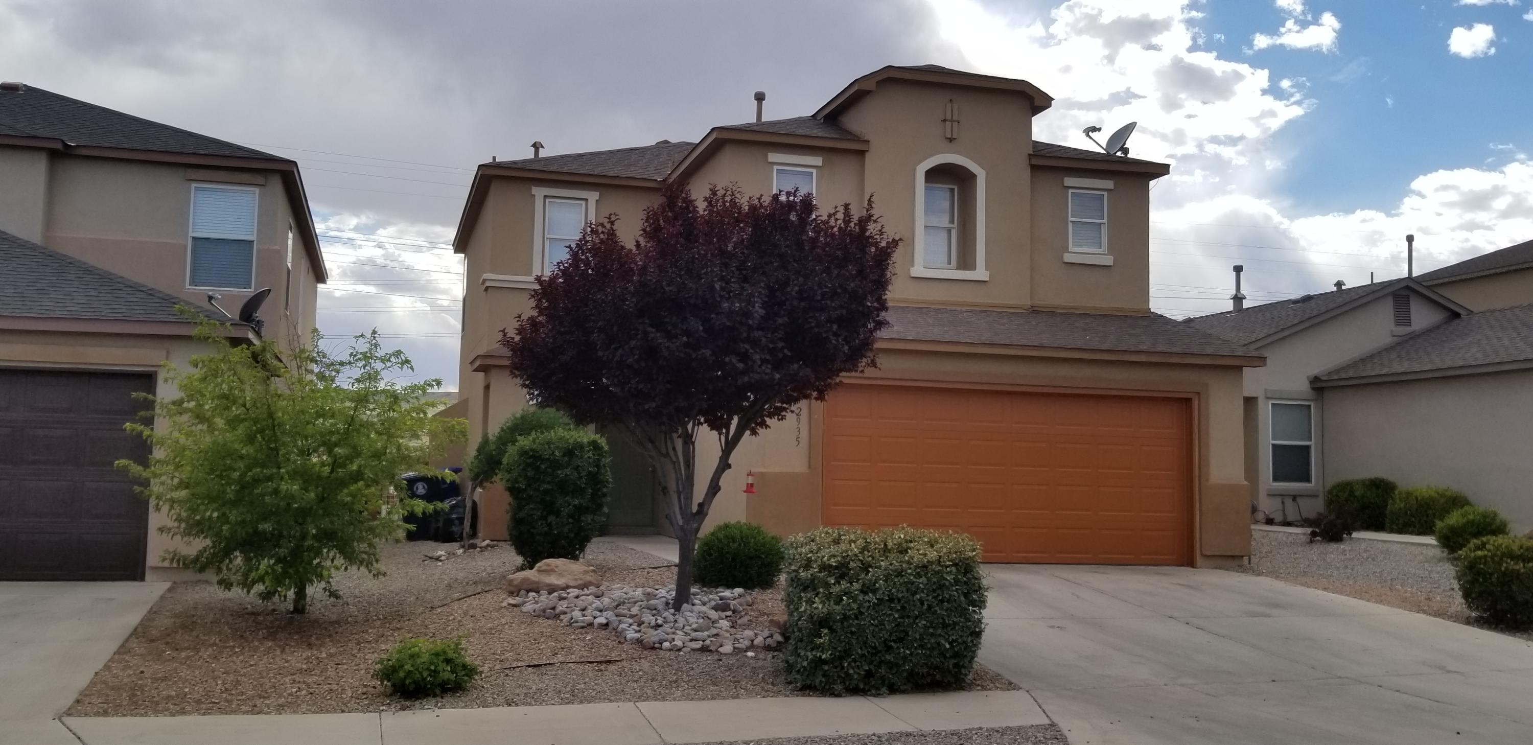 A great opportunity! This beautiful home is a KB Homes Hacienda Series. The home is in a gated community and has an inviting open floor plan with the nice size bedrooms. Large Backyard will be enjoyable for those nice Summer days and sunsets.