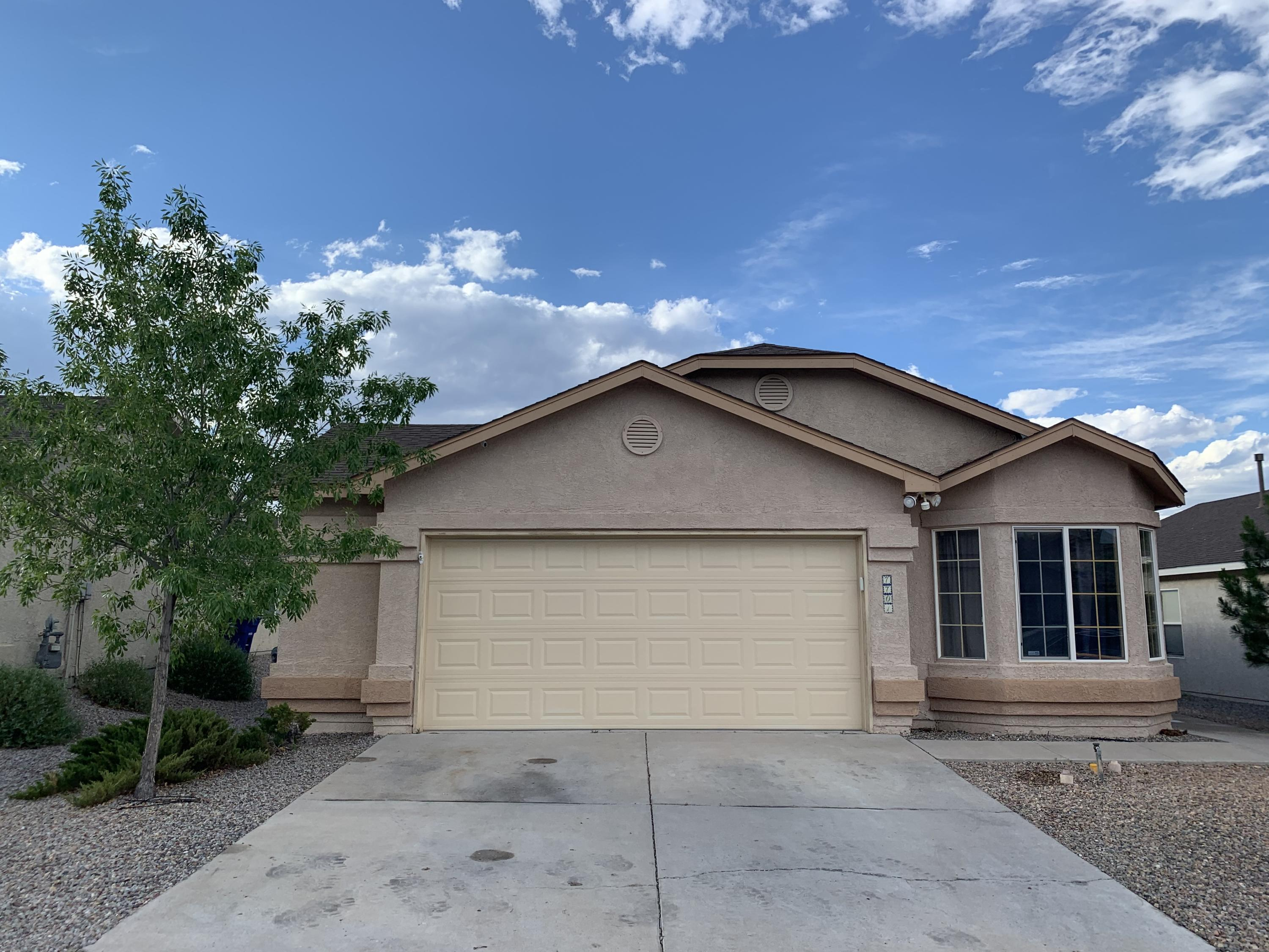 Ventana Ranch!, Casa Bonita!, Open Floor Plan, Comfortable and Cozy! 4 Bedroom, 2 Full Bath, 2 Car Garage With Convenient Extra Space on One Side for Storage, Elevated Ceilings, Fire Place,  Covered Patio, New Carpet in the Bedrooms and Tile in the Rest of the House.