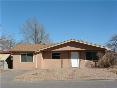 This is a wonderful property ready for a new owner! Updated carpet throughout and freshly painted. Terrazzo ceramic tile in kitchen and dining area. Window blinds come with the sale. RV parking space available. Open concrete patio and 9 x 10 metal storage shed in the backyard. NM Technical Institute is in close proximity. Come see it and offer now!