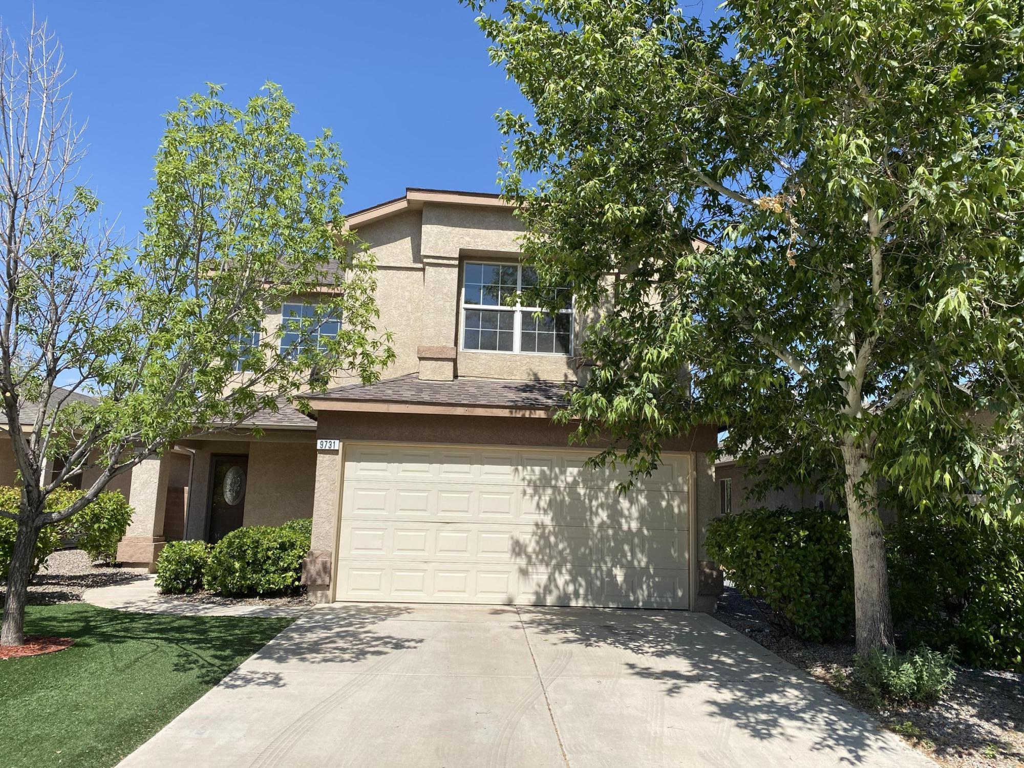 Super Sharp Home in Gated Community. Clean & Freshly Painted, New Carpet and New Evaporative Cooler. Three Bedrooms plus a Loft/FamilyRoom or Potential 4th Bedroom. Shady Back Yard with a Covered Patio. Also, Deck off the Master Bedroom Suite. Move in Condition!