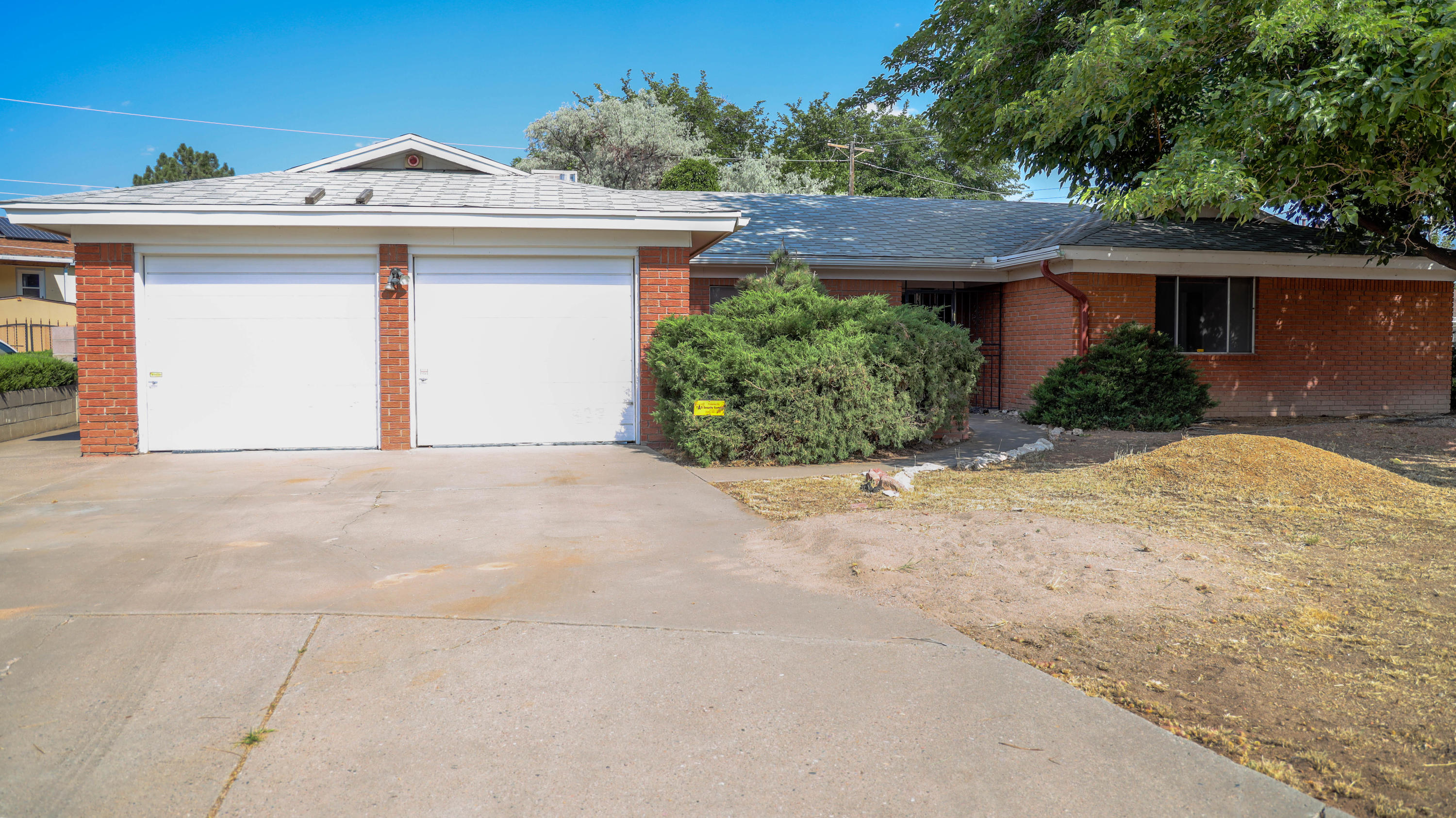 4 bed 2 bath single story home in a cul de sac! Great area with tons of potential! This home almost sits on a quarter acre lot, includes two car garage, spacious bedrooms and plenty of living space. Needs some TLC and is ready for new owner!