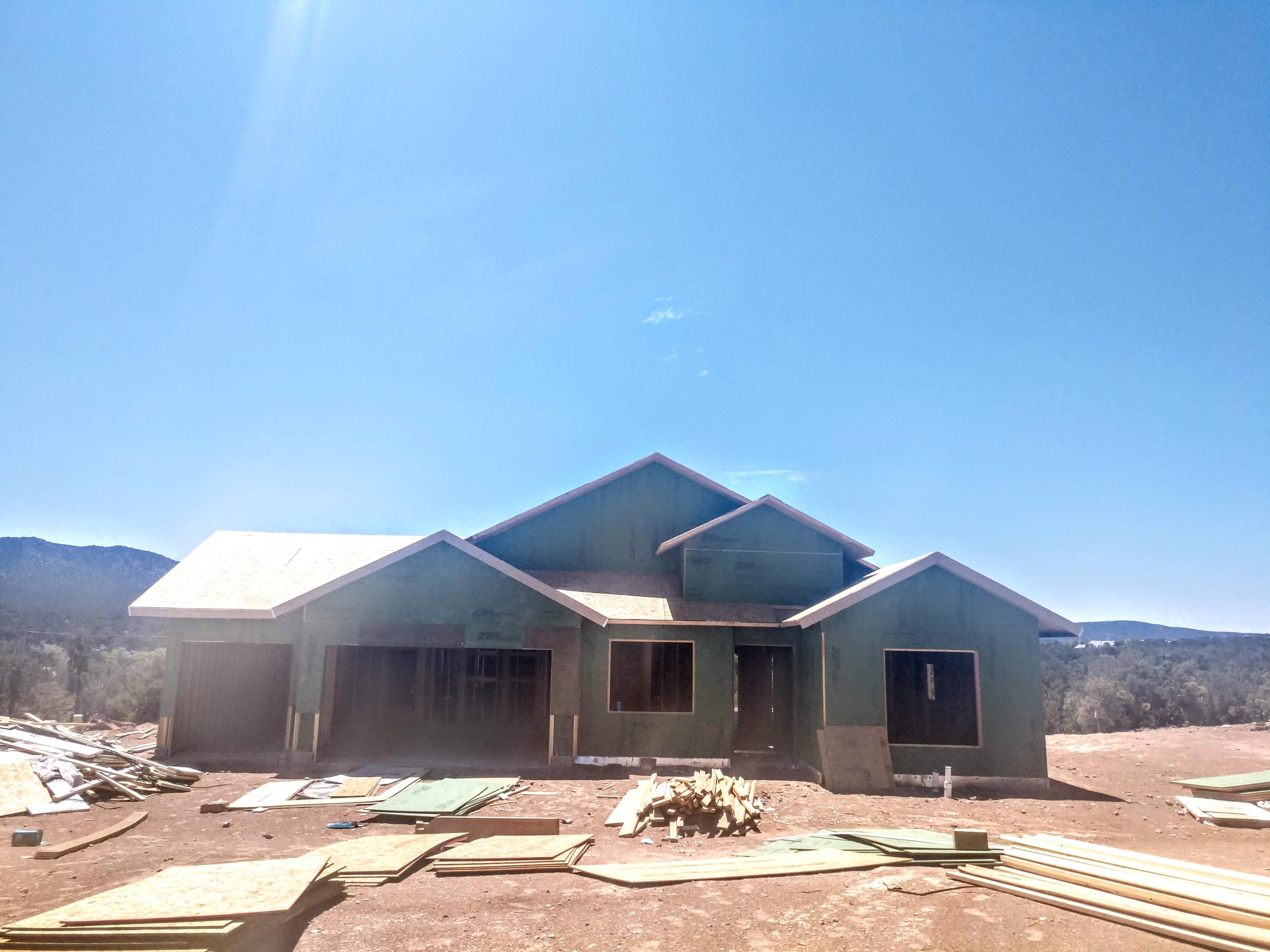 Brand New Abrazo Home  still under construction with estimated fall completion. The Pike Peak offers 4 beds with 3.5 baths and 3 car garage.  All on one level.  The views are spectacular.