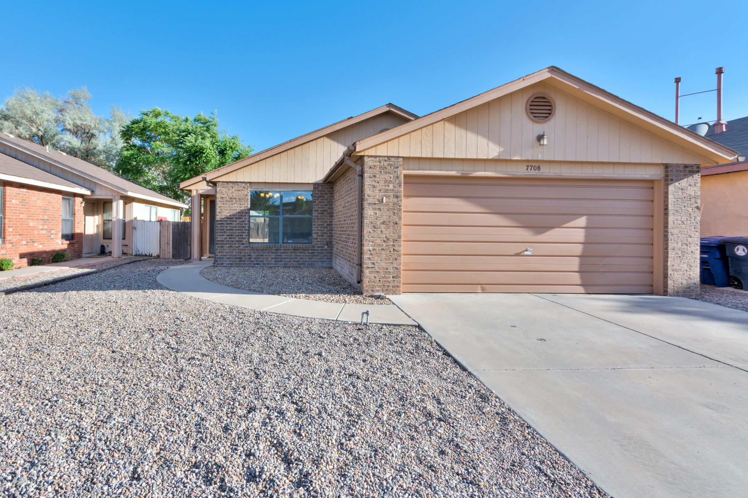 Look no further for your new home in the heart of Ladera Heights, minutes from the Petroglyphs! Complete with new flooring, fresh paint, and stainless steel appliances, this home will not disappoint, but will not last!