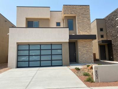 The Mazatlan by Abrazo Homes. This gorgeous contemporary home boasts 3 beds.. All upstairsplus powder down. located in Hawks Landing NE heights.  Estimated completion Summer 2020.
