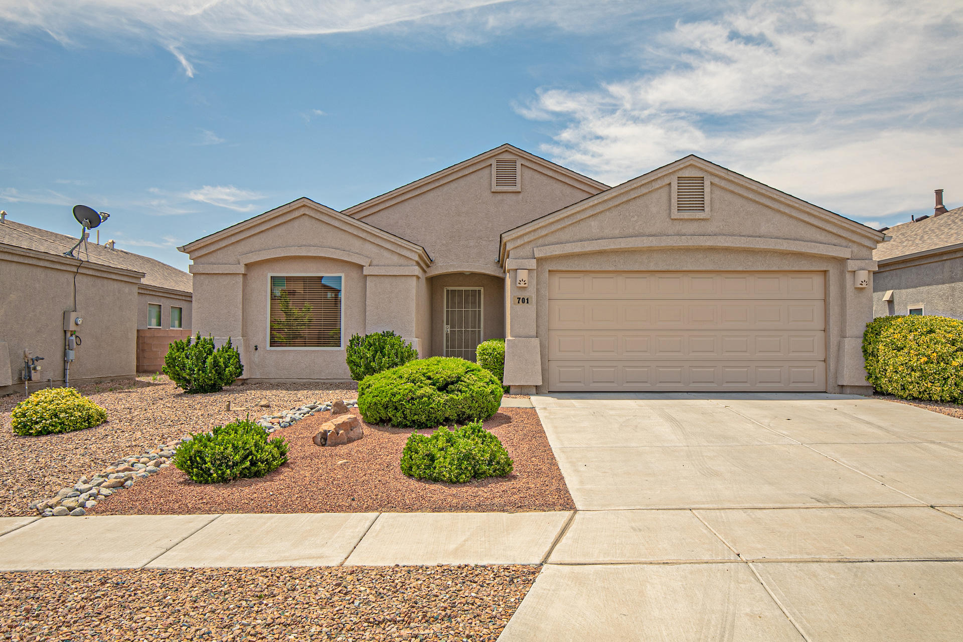You're going to love this well taken care of home in Wildflower Community. Its a quiet gated community conveniently located near I-25, parks, shopping, theaters, and restaurants. Roof (2014) with a transferable warranty. This lovely Charter has a cozy and inviting open floor plan, kitchen island, gas log fire place, quarry stone terra tile floors throughout and laminate wood floors in the bedrooms. This home is turn key and priced to sell! Come and see it today!