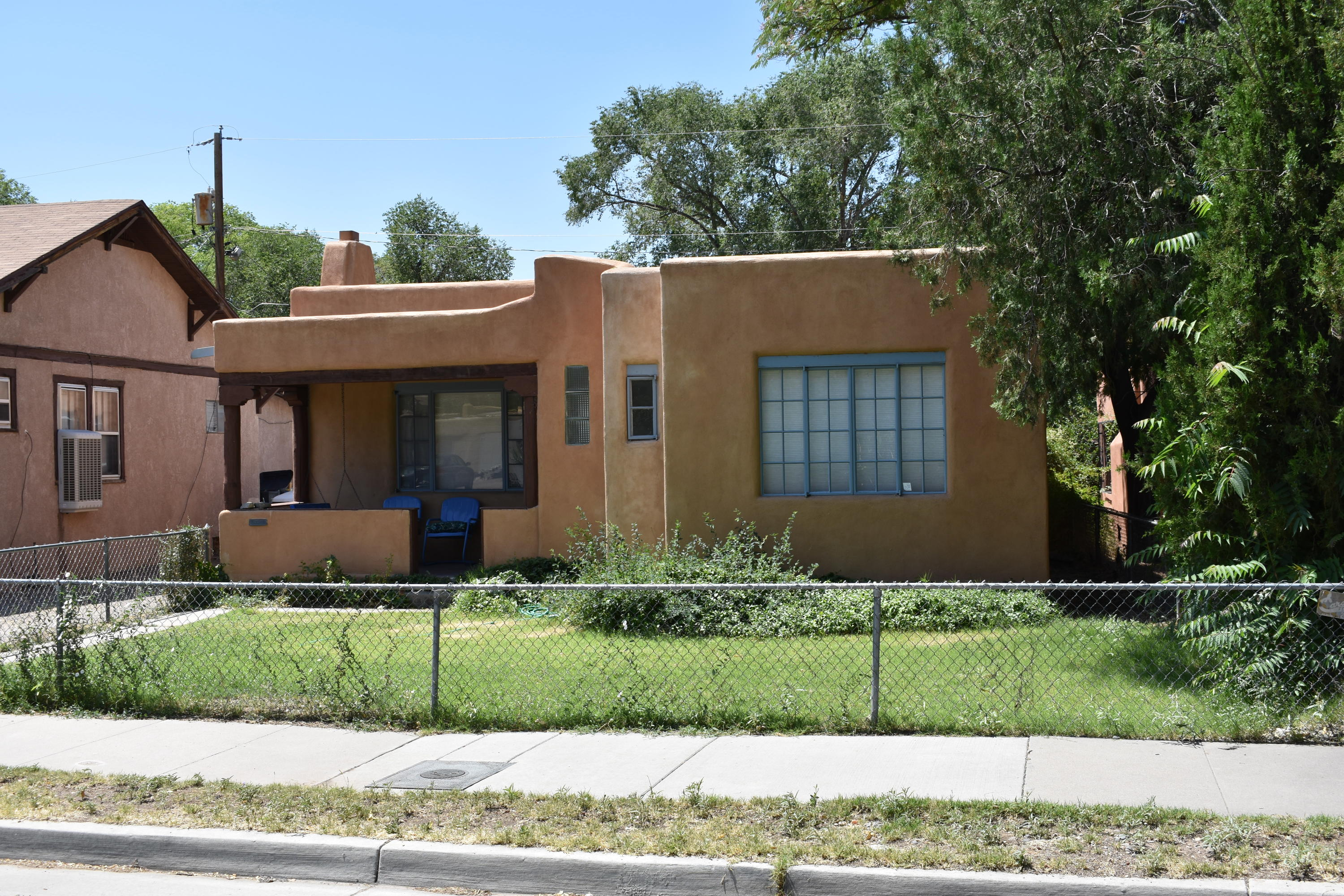 Great location near downtown! Estate Sale. Property is in good condition, but is sold ''As Is''. Cozy 3 bedroom, 1 full bath & 1/2 bath. Larger living area with fireplace. Dining room, kitchen bar, gas range . Newer cooler, furnace. Separate utility area. Refrigerator, washer & dryer included.