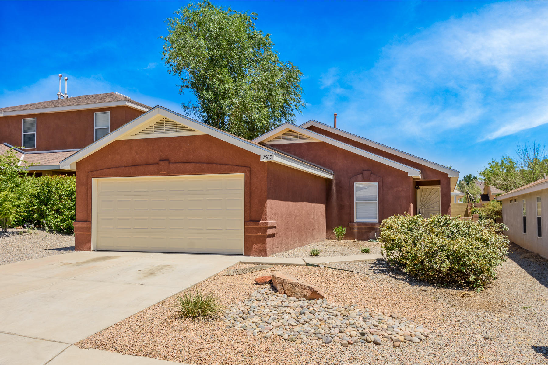 This lovely FOUR bedroom, two bath home is tucked away in beautiful Ventana Ranch just moments  from the community center and pool. Trails and parks are found throughout the neighborhood.   The property features a newer roof (2018), newer Master Cool evapoative cooler,( installed in 2019), new blinds, new light fixtures, and new vinyl flooring in the kitchen, laundry, and bathrooms. The countertops in the kitchens and baths have been beautifully refurbished. Hurry!