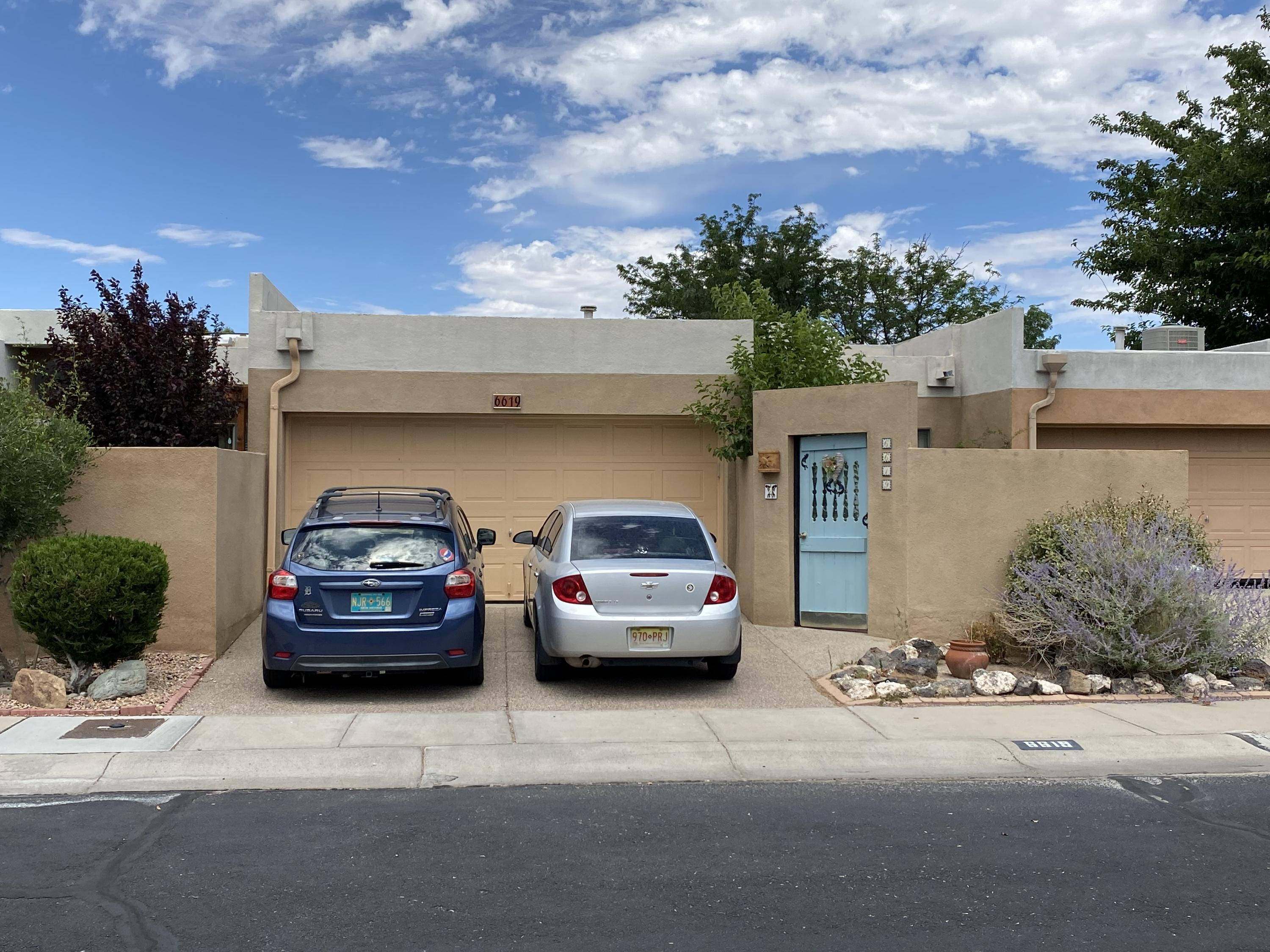 CALLING TO ALL INVESTORS! Currently Leased untill 1/31/21! Please write all offers contingent upon inspections! NO SIGN ON PROPERTY & PLEASE DO NOT DISTRUB TENANT! 3 Bed 1.75 Bath! 4 Sliding Patio doors to 3 Courtyards! Glass Log Fireplace! All appliances stay! Close to Ladera Golf Course and Shopping Centers! Easy access to I-40! PLEASE RESPECT TENANT PRIVACY!