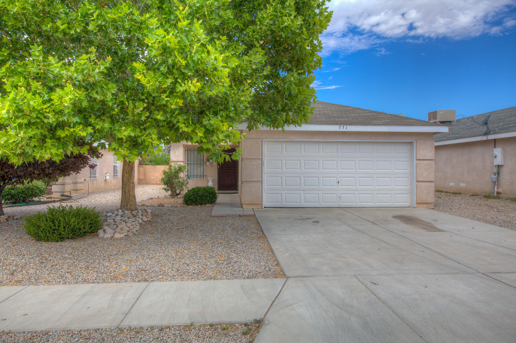 You will love this move in ready, well maintained two bedroom ,two full bath, two car garage home. It has a bright open floor plan. Front and backyard are xeriscaped and very low maintenance. Pride of ownership is definitely evident. Come see for yourself!