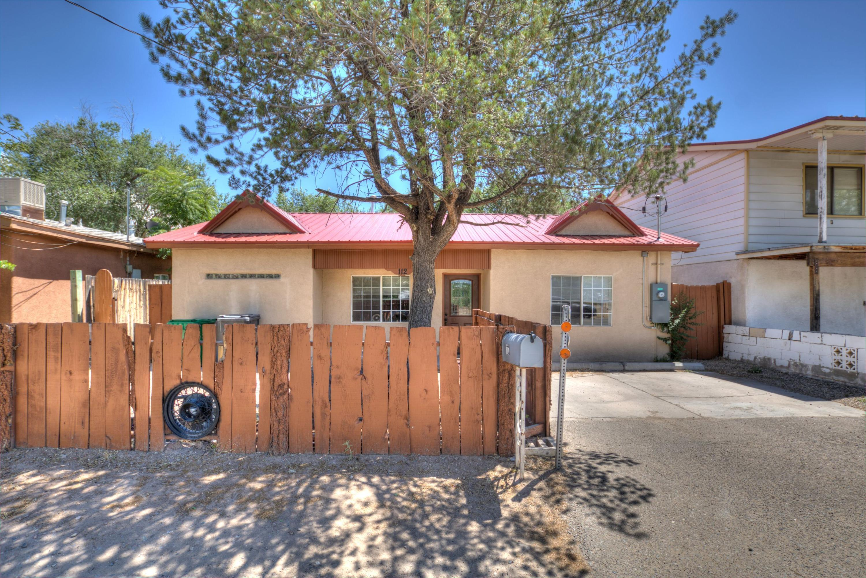 Fantastic opportunity to live in the North Valley! Nicely remodeled home with easy access to Paseo del Norte and I-40. This home has a brand new furnace and refrigerated air unit. Newer flooring throughout, updated kitchen (refrigerator included) and bathrooms. Backyard includes a fire pit and a covered patio, perfect for a staycation! Make an appointment today before its gone!