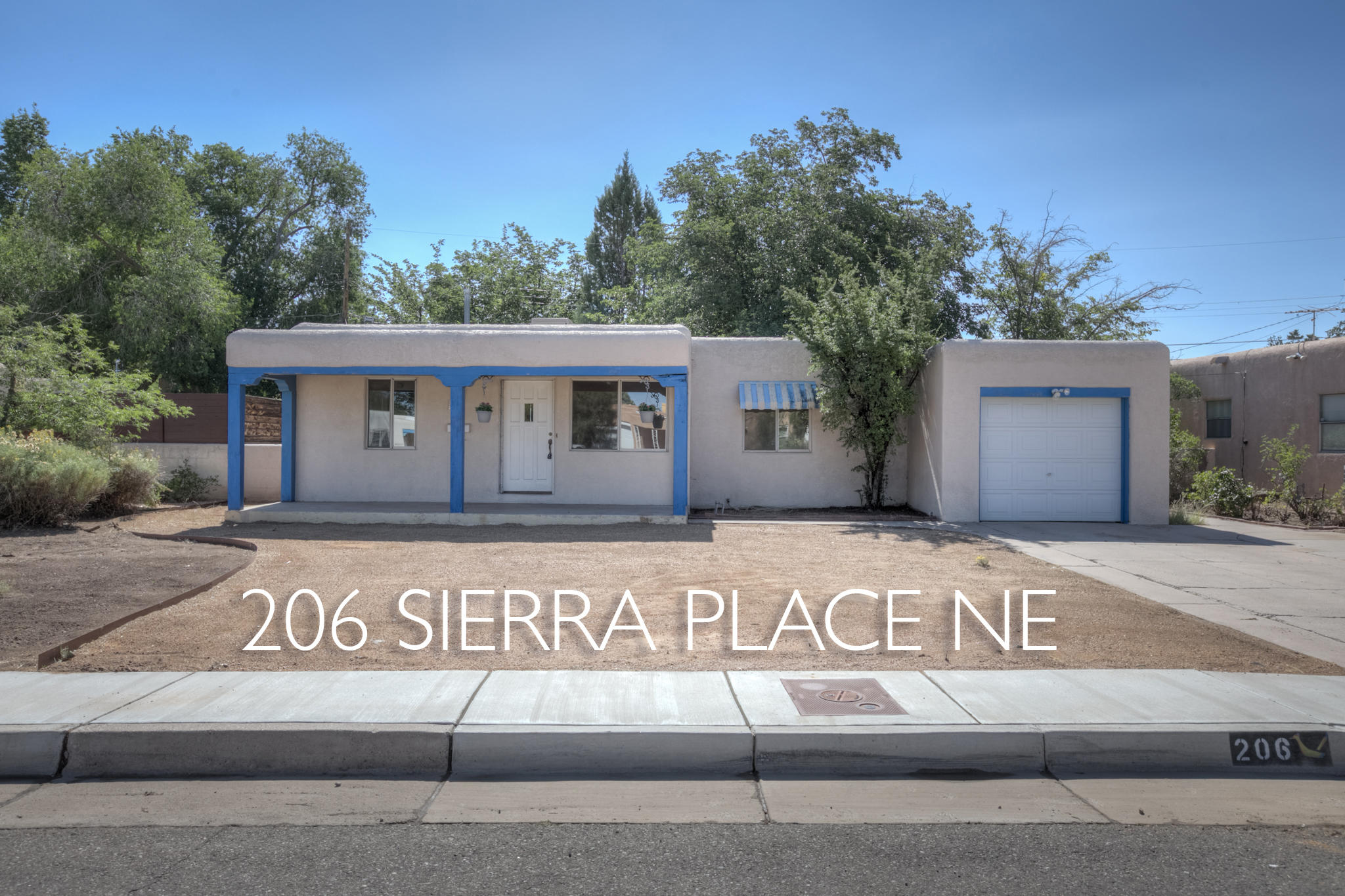 Location, location, location! Near Nob Hill, sweet coved ceilings, hardwood floors, and all the charm of the Pueblo Alto area! Make this classic home yours! 3BR/1 Full Bath, 1 3/4 bath, 1 car garage. Incredible potential.