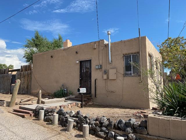 This is an opportunity for investors.   Home will not qualify for financing.   Offer must be cash.   Built in approximately 1933 and  Part of the Silver Hills neighborhood.  This is an original ''Tiny Home'' with only approximately 400 square feet!  I am sure these walls could tell stories!  1 bedroom, 1 bath, living room and kitchen.   Detached 1 car garage.  Hardwood floors, though they are nearly destroyed.  Roof leaks.  Appliances are not connected.   Home is sold as is . Zoning is R-ML described as Multi Family Low Density.   Seller has not occupied the home and cannot provide Seller Disclosure.