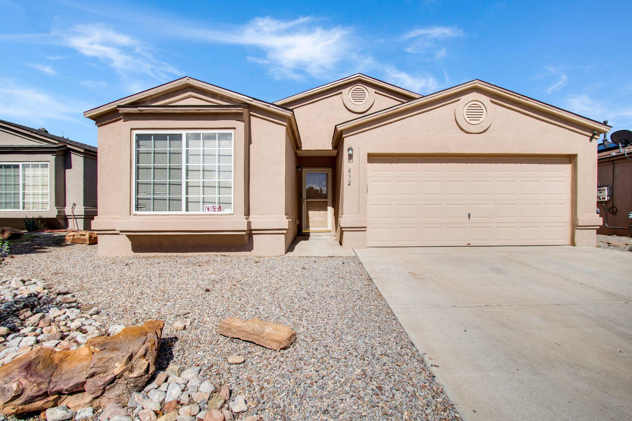 ***This move-in-ready home has easy access to the freeway, REFRIGERATED AIR and an almost maintenance free back yard! Did we mention this home has SOLAR PANELS powering the home! Ask us to see the electric bill, you will be amazed with how much you'll save! At this price you will want to HURRY!!! SUCH A GREAT HOME -- IN THIS HOT MARKET -- WONT LAST LONG!!! ***