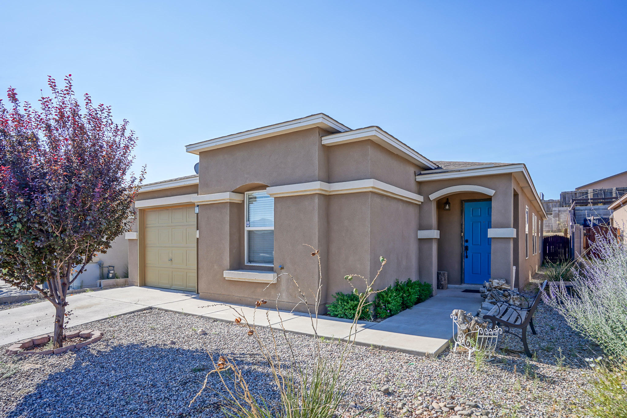 Great Starter Home boasting newer Interior Paint, newer Kitchen Quartz Countertops with added Counter Space and Cabs, new Gas Stove as well! Backyard has been terraced with block walls installed. Close to Schools & Shopping! Move-in Ready -Home won't last long!