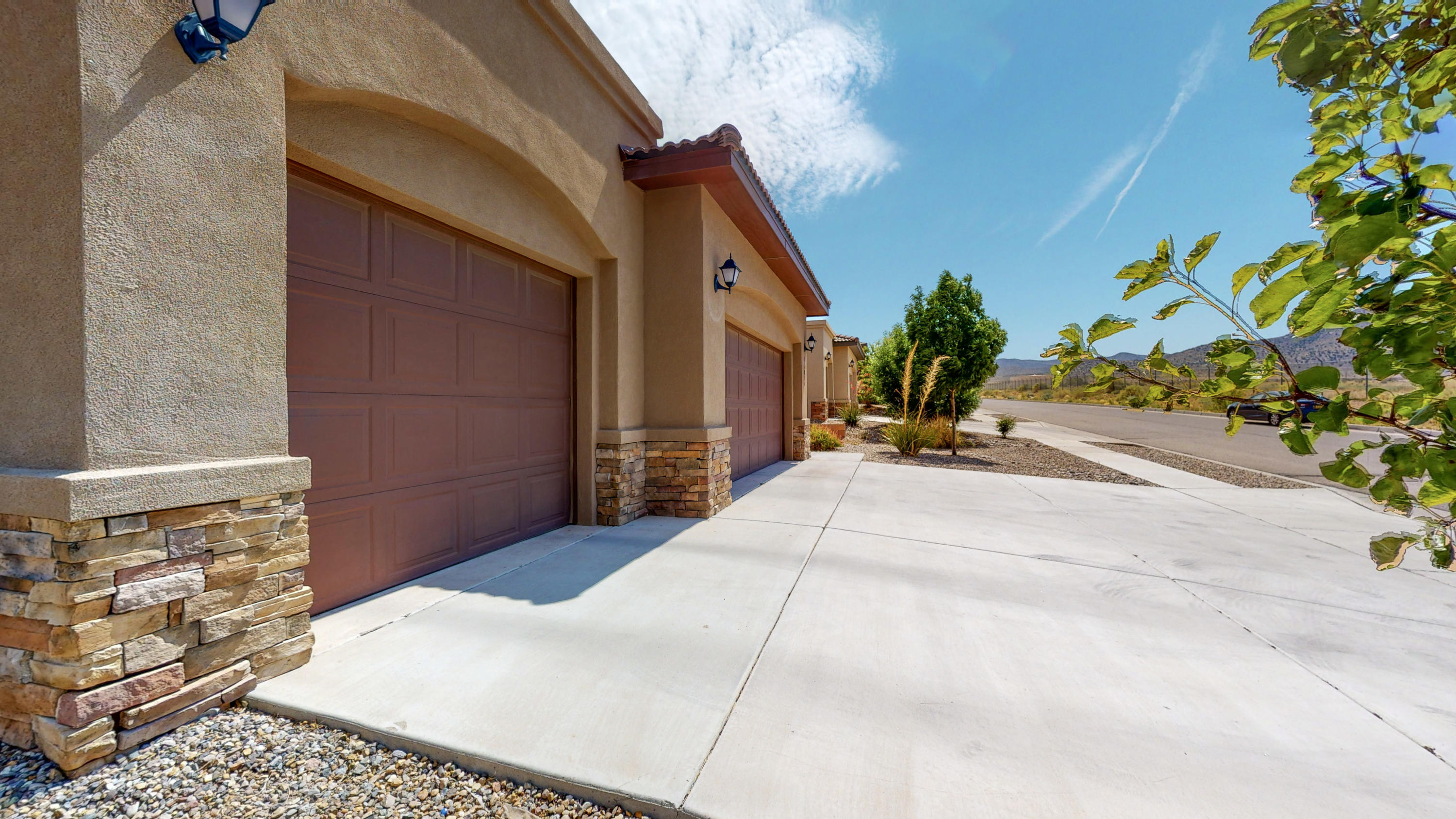 Come see this amazing RayLee home located in the highly sought after Juan Tabo Hills subdivision. This property showcases a functional floor plan with attention to detail. Chef kitchen boasts granite counter tops, eat in bar and stainless appliances. Features two living rooms with an upstairs loft space. 4 large bedrooms plus an office! Enjoy the large walk out deck from the master bedroom overlooking KAFB open space. Large back yard with covered patio perfect for entertaining and family fun. Existing solar system will help you to save $$$ on monthly utility expenses!! Refrigerated air! Tank less hot water heater! 3 car garage! This house is a true gem! Call a Realtor today to schedule a private showing.