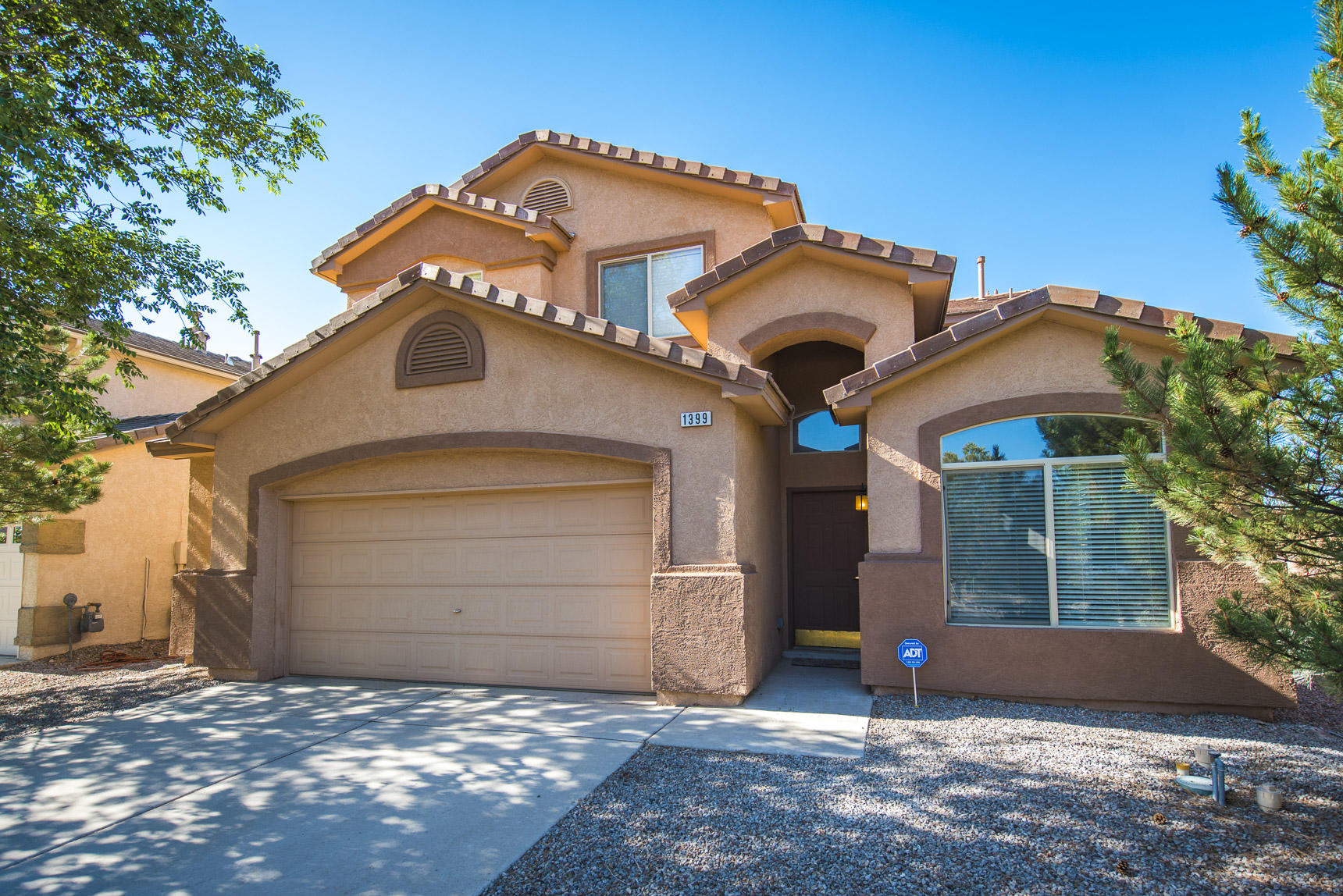 *** OPEN HOUSE - Sunday, August 9th, 1:00-3:00pm *** This Beautiful 3 bedroom, 3 bathroom home sits directly next to a beautiful park and boasts an open floor plan with lots of living space! The home is in the Cabezon Neighborhood and conveniently located near many amenities. The home itself has a spacious kitchen opens up to the main living area which is perfect for entertaining. The generously sized master bedroom has its own fireplace and has 2 huge walk-in closets! There is a patio off the master bedroom too, and it overlooks the park across the street! The loft sets up nicely for extra entertainment space or an office! Seller Offering $3,000.00 New Carpet or Closing Credit with acceptable offer as well. Come see this home today before it's to late!