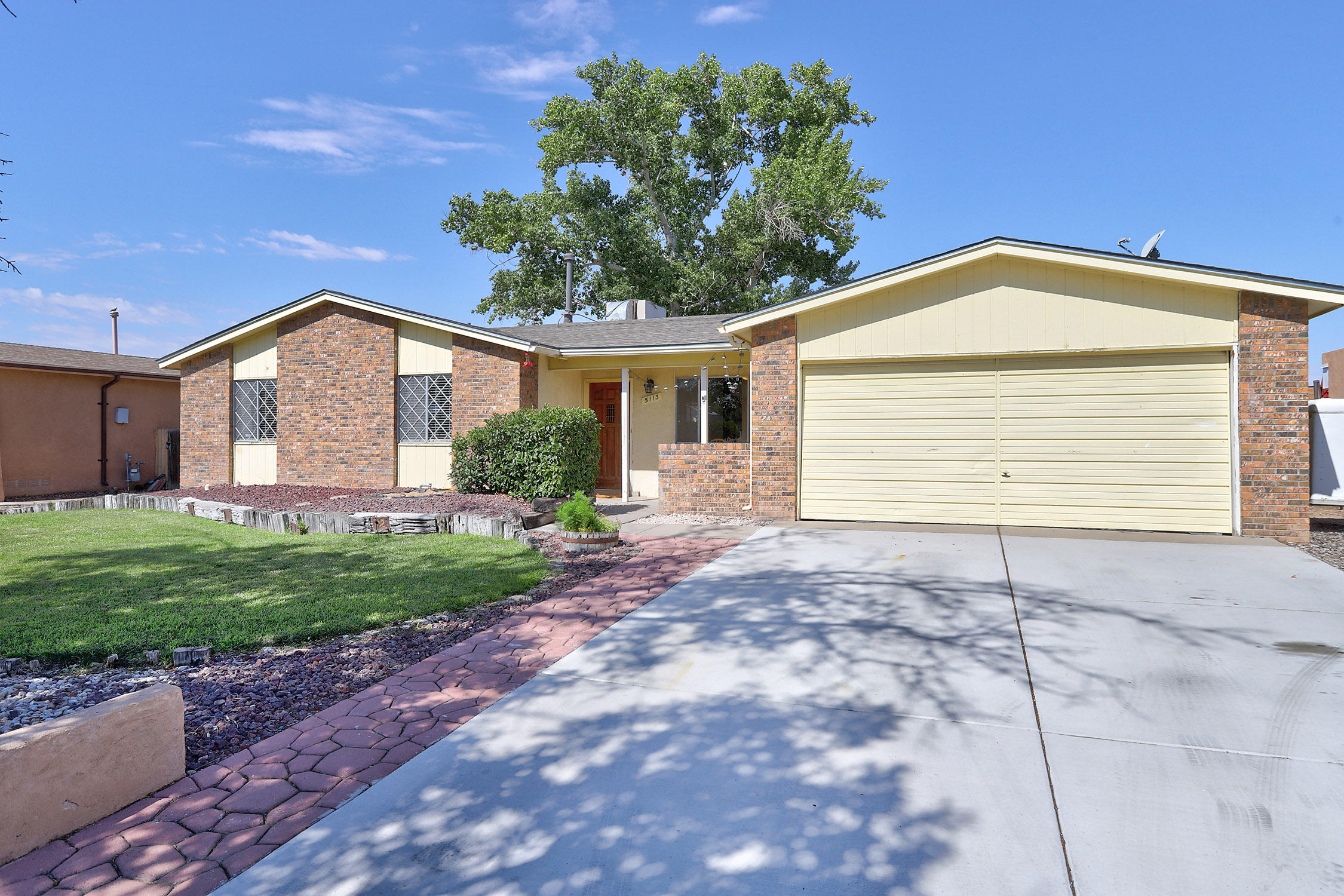 Its a Gem!! Come view this 3 bedroom one story in the heart of Taylor Ranch.  Charming foyer  leads to living room,& dining area, Entertaining is a dream with the kitchen(pantry, gas stove and breakfast bar) opening into large great room complete with fireplace.Sun room flex area adds additional living space for office/4th bedroom, or quiet retreat.  Large backyard has plenty of room for a garden. Newer  flooring, large bedrooms and updated baths make this a delightful find.  Shopping, schools, and restaurants are just minutes away.  Welcome home!!