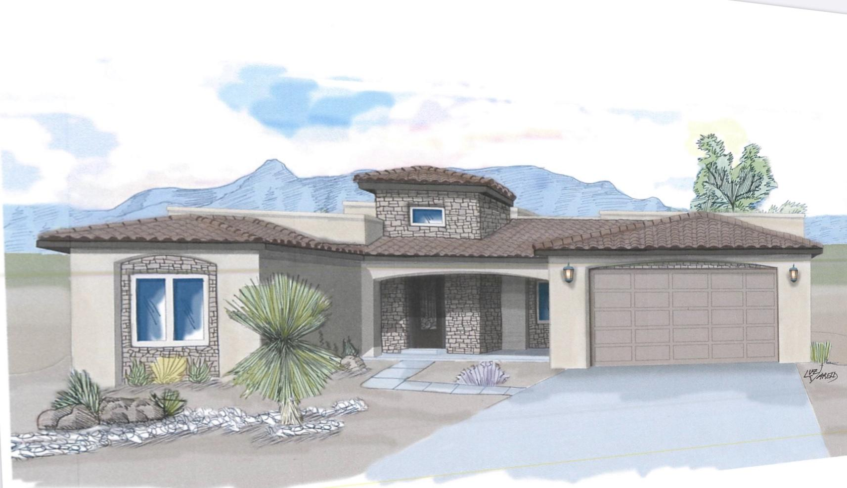 LOCATION & VIEWS!! Exceptionally quality built Custom home situated on a highly sought after unobstructed VIEWS lot in Paradise East. Not only does this home offer charm throughout, but it was built to capture the VIEWS, with quality and great attention in every detail. Be greeted in the welcoming foyer that looks straight through the house to capture the Beautiful Sandia Mountains through the cascading glass patio doors. The open concept is great for entertaining and boasts any chef's dream kitchen. Custom granite countertops throughout. Enjoy beautiful sunrises or Sunsets on the Roof Top Patio with a spiral staircase overlooking all of Albuquerque, the Sandia, Jemez & Manzano Mountains. This home is easy access to highways, shopping, trials and so much more.  Welcome Home!