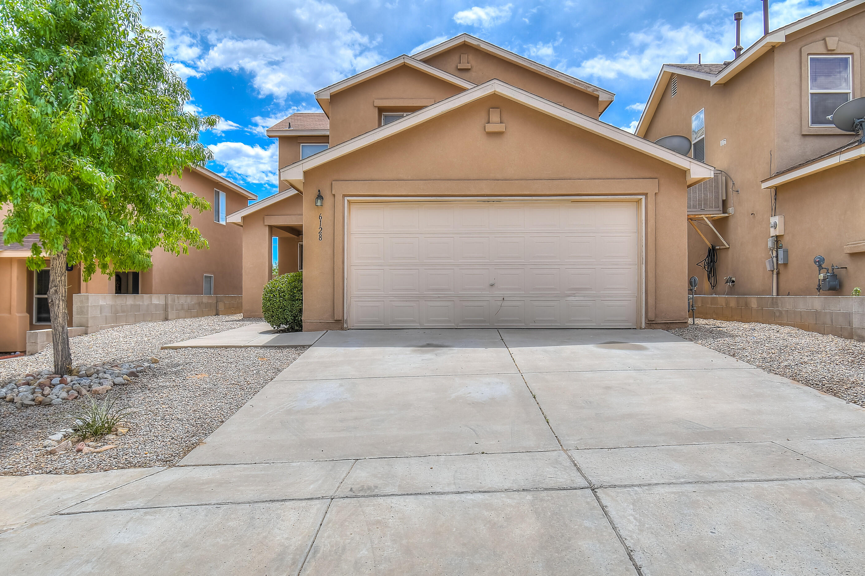 What a wonderful opportunity to own a KB Built home in Park South. This two story beauty is turn key and ready for a new owner. Brand new carpet throughout the house. New tile in all the bathrooms. A wonderful balcony off the master suite with stunning views. The location is great being close to a park, fine dining, CNM West campus, and Rust Medical Center. The Home Boasts an Open Floor Plan that is great for entertaining. The Brand New Evaporative A/C Unit will be sure to keep you cool during the hot summer months. Upstairs are two large spare bedrooms, a loft, and a full bathroom. Also upstairs is the master suite with a large walk-in closet, and full bathroom. This beauty has a lot to offer and will be sure to sell quickly.
