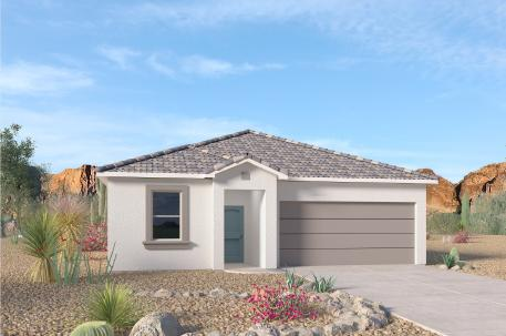 We invite you to the flagship of Rio Rancho, ''Cleveland Heights'' by D.R. Horton. Come take a look at one of our single story floorplans available! ''The Hayden'' 4 bedrooms, 2 bathrooms and an open concept. This beautiful home is loaded with unbeatable features and near all the amenities you will ever need! HOME UNDER CONSTRUCTION. EST. TIME OF COMPLETION IS END OF OCTOBER.