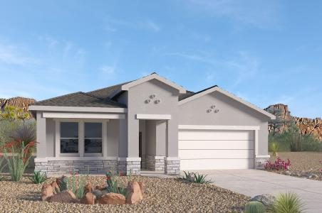 We invite you to the flagship of Rio Rancho, ''Cleveland Heights'' by D.R. Horton. Come take a look at our most popular single story floorplan, ''The Logan'' 4 bedrooms, 3 bathrooms, an office and an open concept. This beautiful home is loaded with unbeatable features and near all the amenities you will ever need!