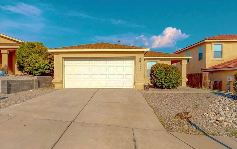 Welcome to this well maintained home within the beautiful Tuscany Ridge Subdivision. Most recent upgrades include; refrigerated air, laminate flooring (no carpet), roof, water heater and furnace replaced (6/2018).This home features; vaulted ceilings, gas fireplace with an open living/dining room; great for entertaining! Large master w/walk in closet, separate tub and double sinks. Backyard has beautiful views and is private. Home is sold as-is - no repairs. All appliances convey; refrigerator, stove, dishwasher, microwave, washer and dryer.