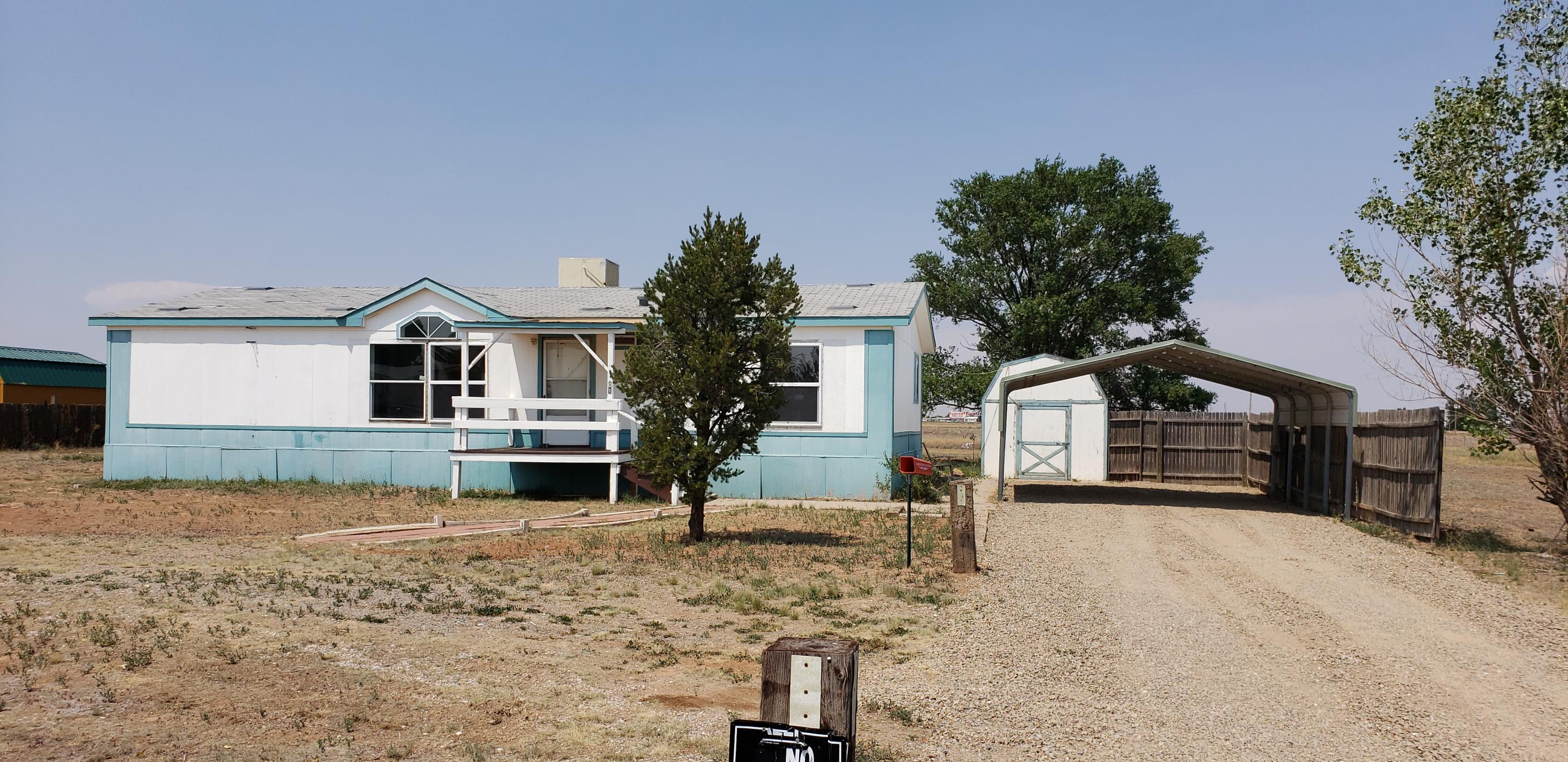 Great location! Great starter home with room for all of your ''toys''!! Corner lot with easy access for an RV. New flooring and carpet! Large master bath, storage shed, and carport. NEW ROOF being installed in 2-3 weeks! Come on by....see yourself living there, fall in love, and make an offer!!