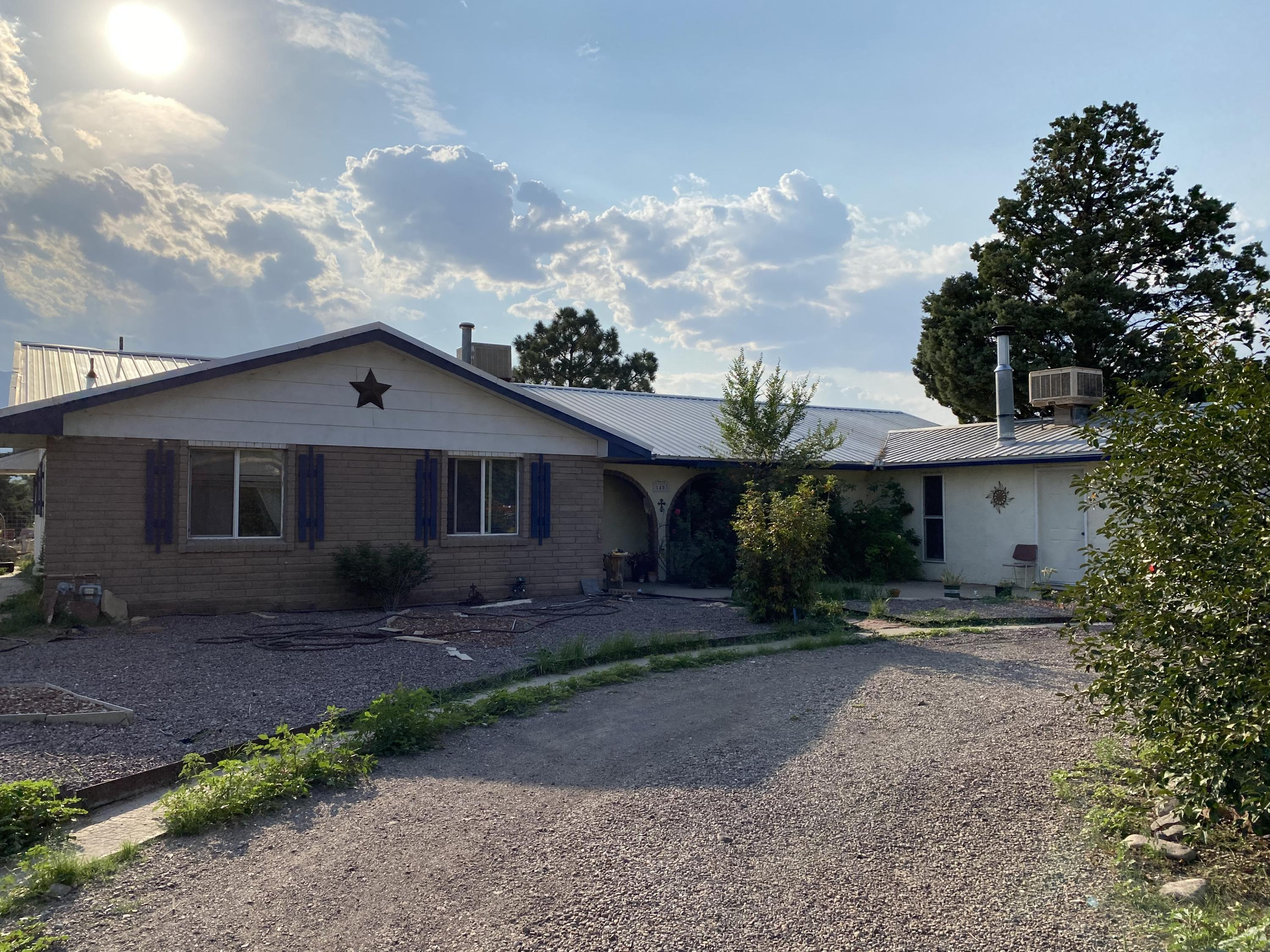 Nice Corner Lot Property, 4 Bedroom 2 Bath, and an apartment right next door with 2 bedroom 1 bath, Property has an open floor plan, lots of space and potential, needs some repairs and TLC Property is currently rented, Showings are allowed only on Saturdays with 24 hr notice.