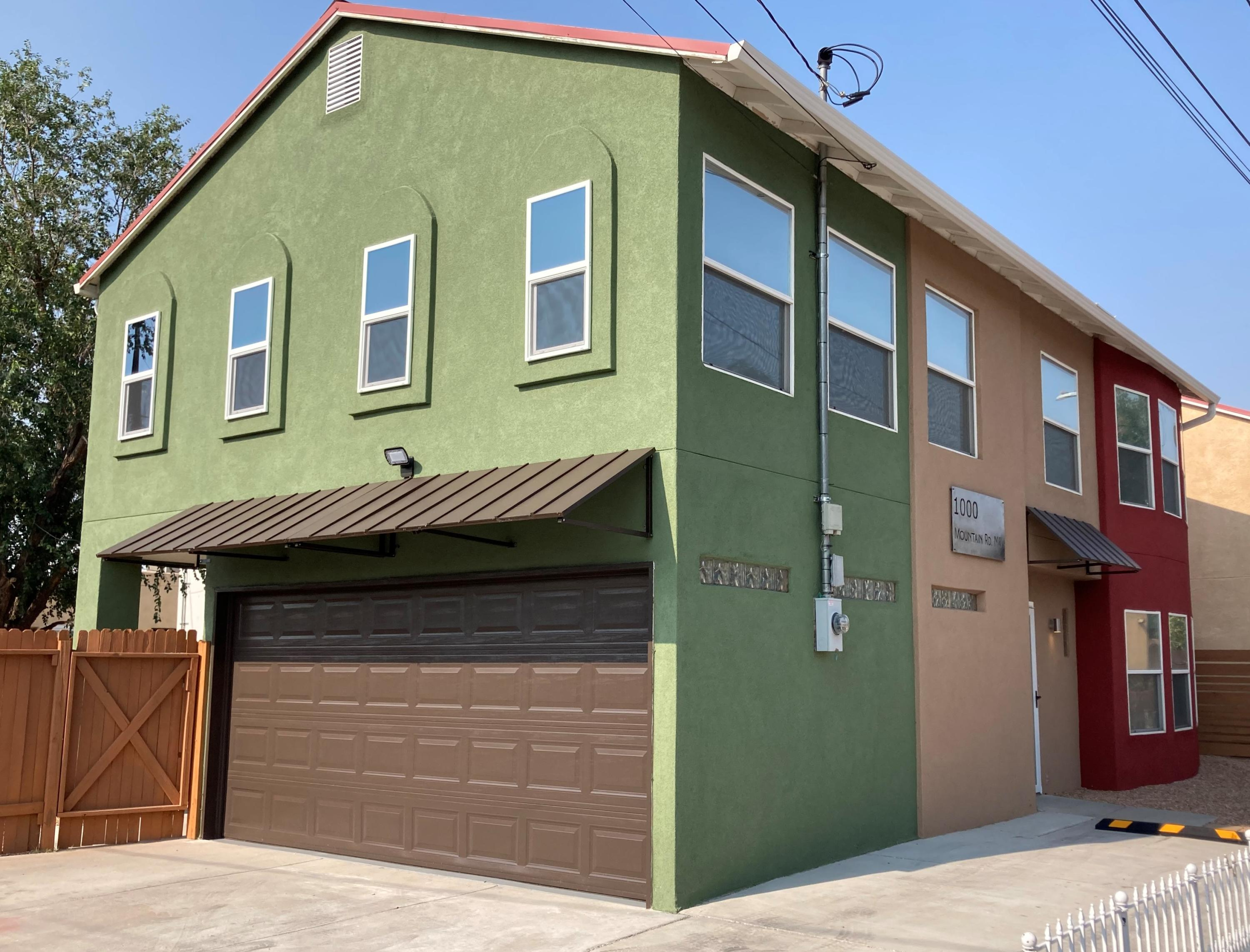 Downtown loft style living in a single family detached home! Ground-up remodel, including new kitchen with custom granite counters and stainless appliances. All new paint, texture, trim and hardware throughout. Two full baths upstairs and guest bath downstairs. Generous master suite, walk-in closets, and the large, fully finished 2-car attached garage is a rare find in the downtown area. Low maintenance pro-panel metal roof and new large capacity cooler. Awesome location just steps away from multiple coffee shops, restaurants, a bakery and a grocery store. Take a short walk to Old Town, Sawmill Market, museums, and multiple award winning breweries. Three bedrooms are perfect for a family, home office, or vacation rental.