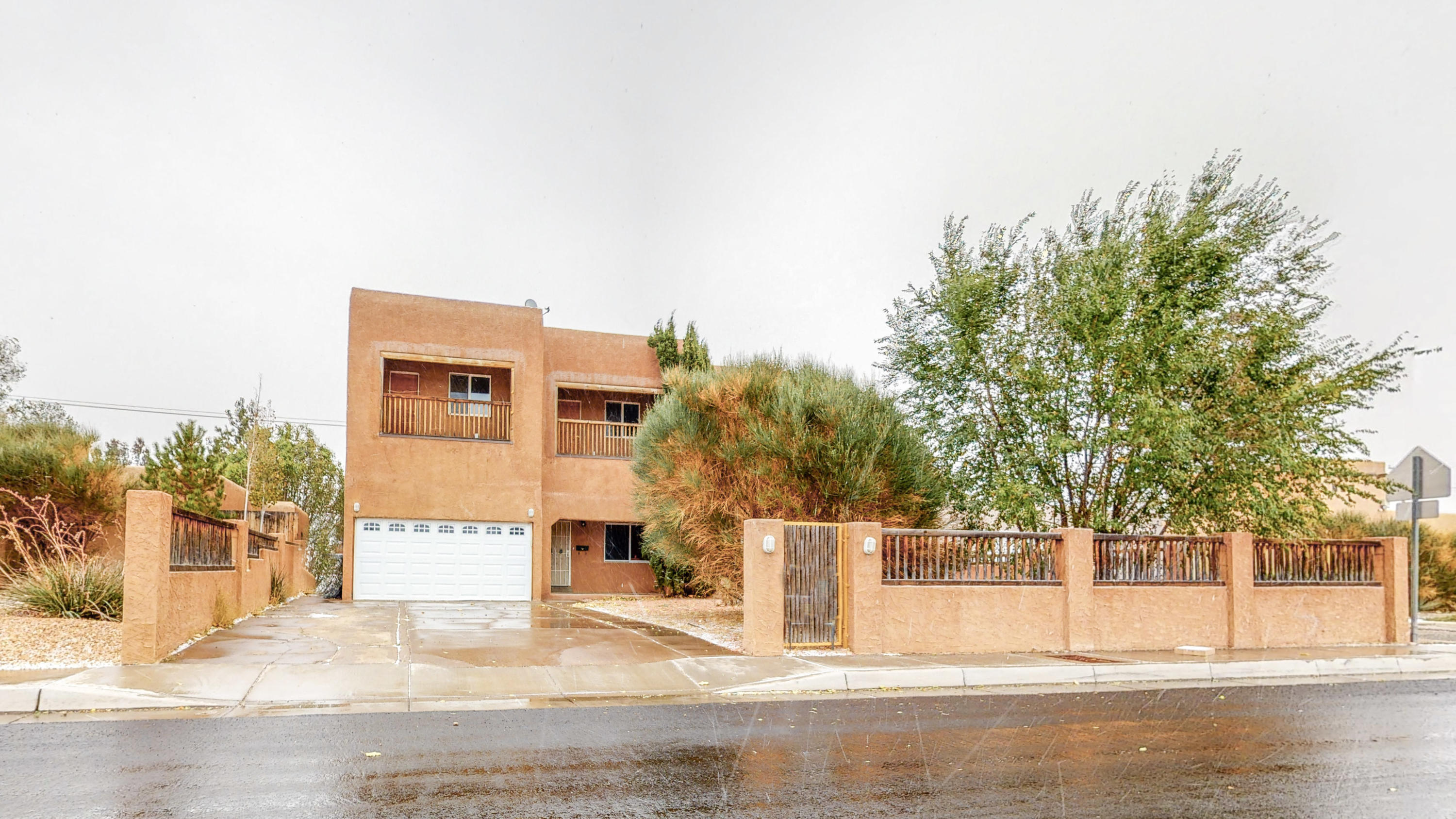 One of a kind house under $100 per square foot! Located east side of Ridgecrest Addition. 6 bedrooms! 4 full bathrooms! 3692 square feet. Multiple master bedrooms. Multiple living / family rooms. Great view from upper decks. Needs a little TLC but can be made into wonderful multi generational family home. Has been a rental the last decade.