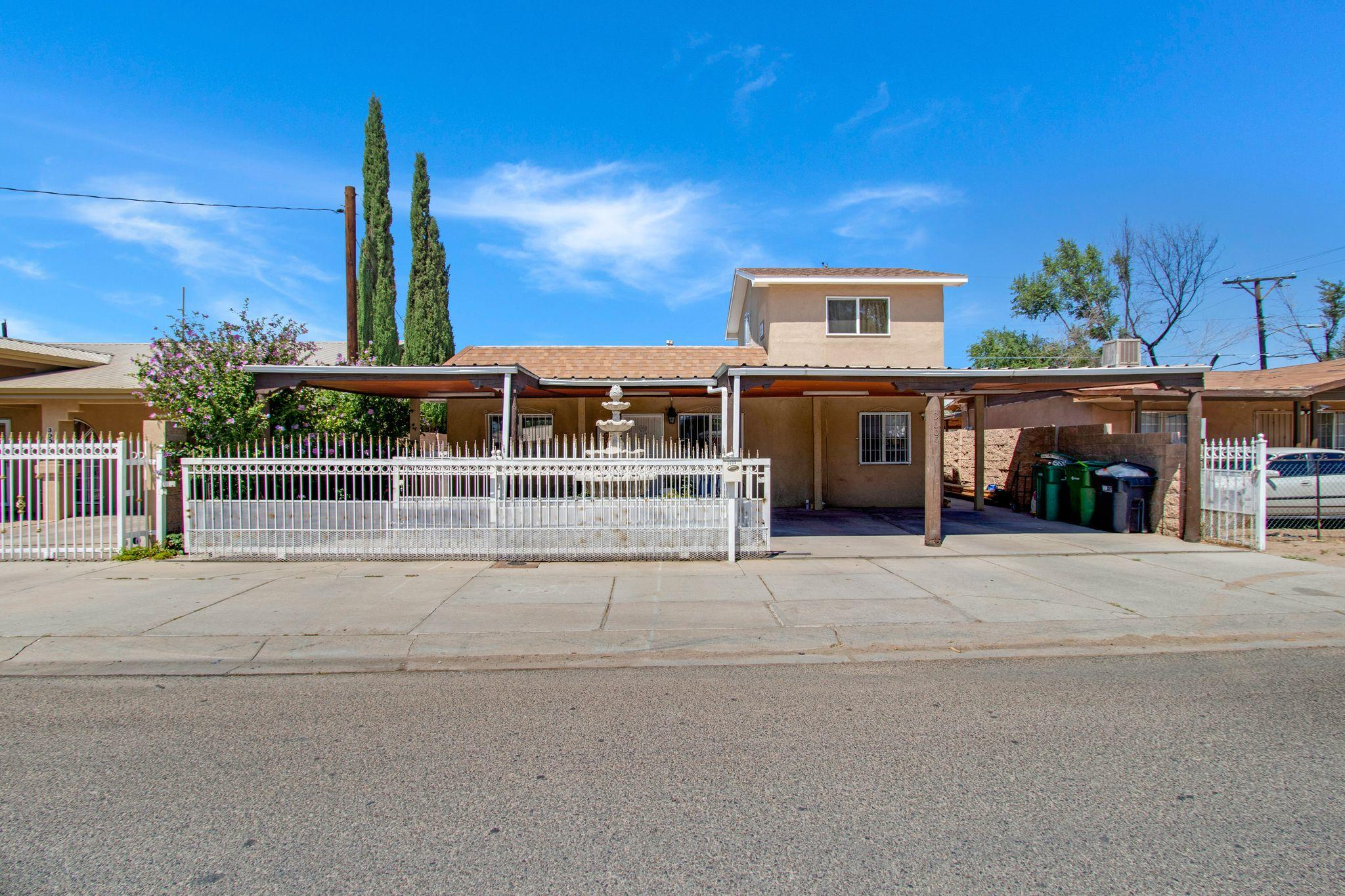 This home is super cozy and ready for it's new owners! (Sq footage not accurate, being verified). This 4 bedroom, 2 bath home is located just off Central and Atrisco making it super convenient to major bus lines, retail, restaurants, bosque trails, Tingley Beach, Zoo, and Bio Park.  The gated drive way has two separate gates allowing for secured off-street parking.  Come check it out today!