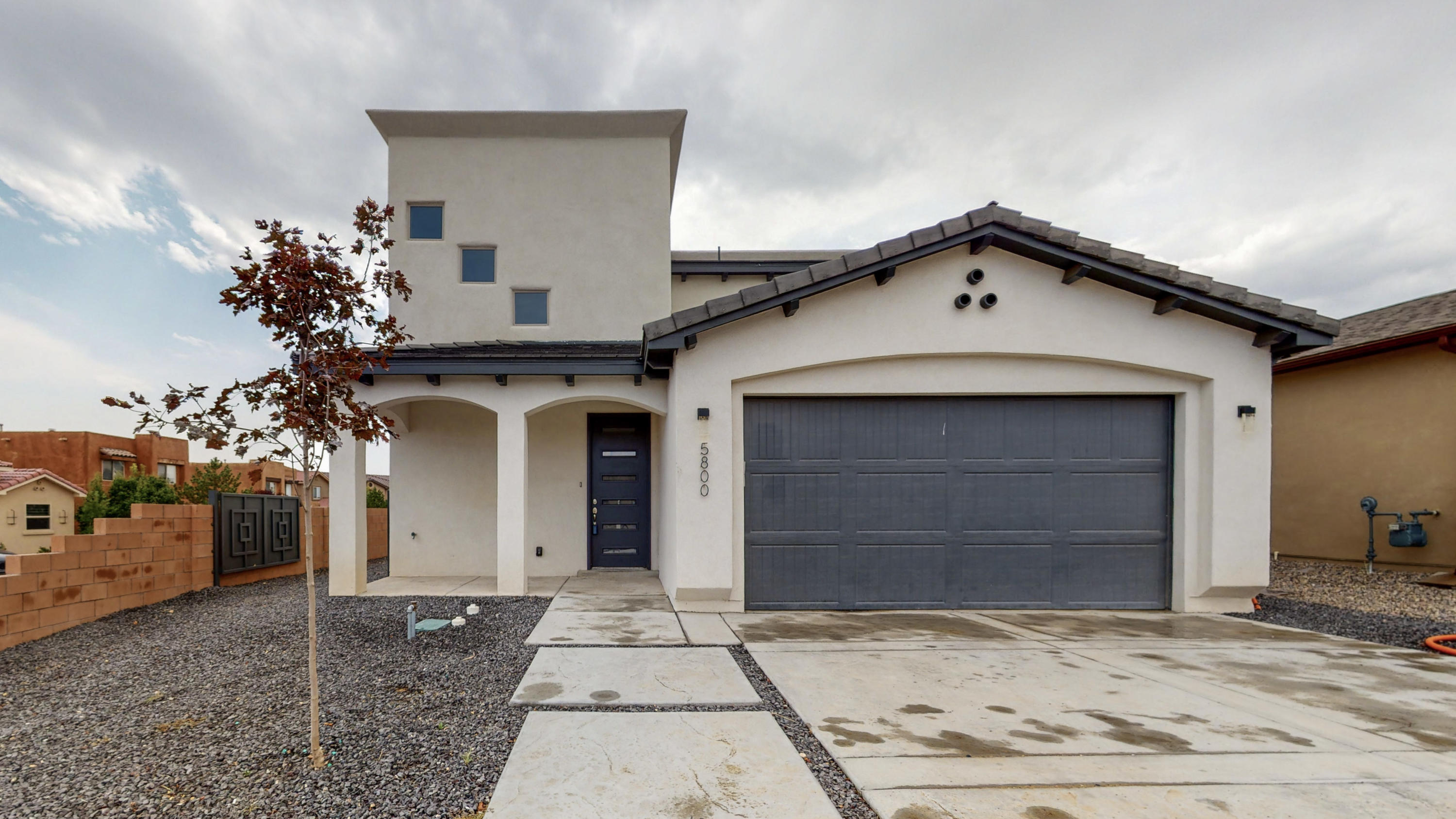 Beautifully done Twilight Home located on a corner lot in the Paradise View community! Great open floor plan with space for everyone hosting 2,667sf with 4 bedrooms, 3.5 bathrooms and a loft. Stunning kitchen with upgraded white cabinetry, granite countertops, custom backsplash, stainless steel gas range, microwave, dishwasher, refrigerator and dishwasher, pantry and a large island with seating space. Spacious living area with a gas fireplace and wood look floors. First floor owners suite with trayed ceilings and a private bath. Bath hosts dual sinks, an over sized vanity, jetted tub, walk-n shower with tile surround and a walk-in closet. Upstairs enjoy the loft space perfect for a kids living area. Outside find a covered patio, nice yard space fully walled for privacy.